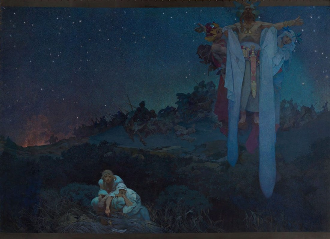 Slované v pravlasti - symbolika díla