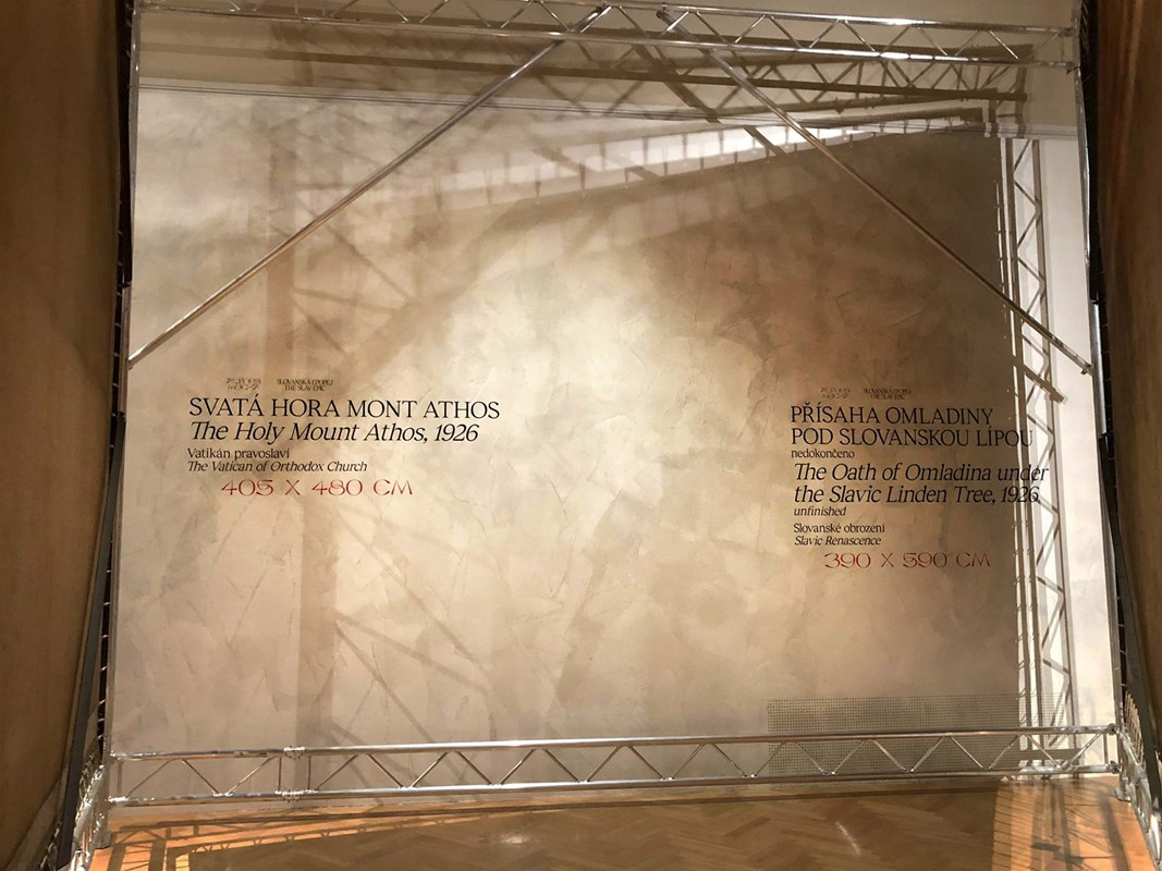 Digitalizace - Slovanská Epopej Praha