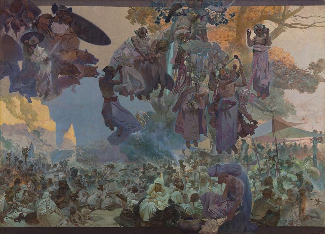 Slavnost Svantovítova na Rujáně