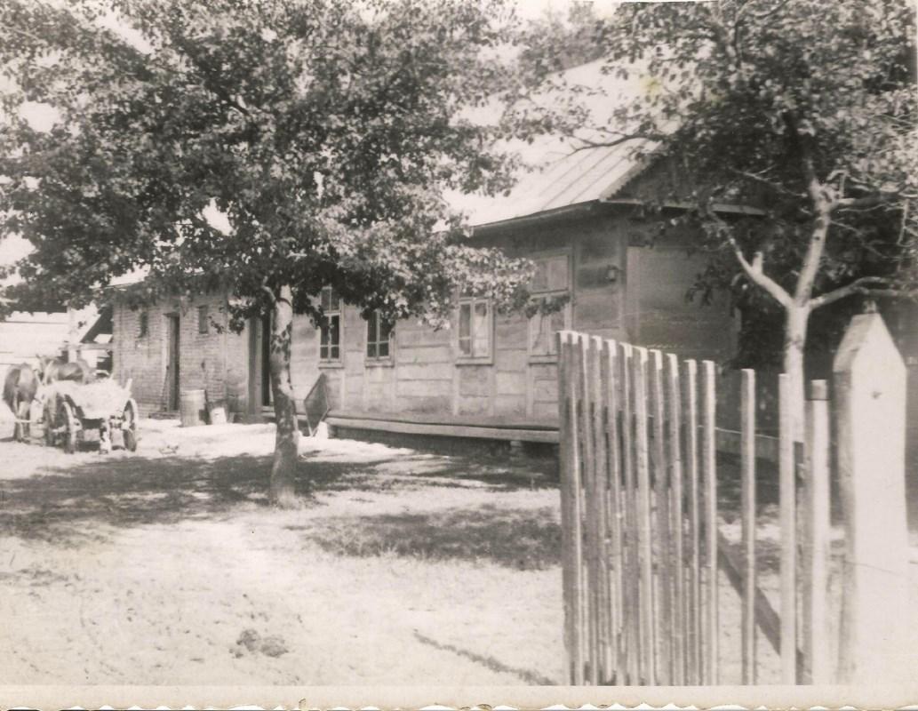 Dům Václava Bešty v Českém Malíně ve čtyřicátých letech