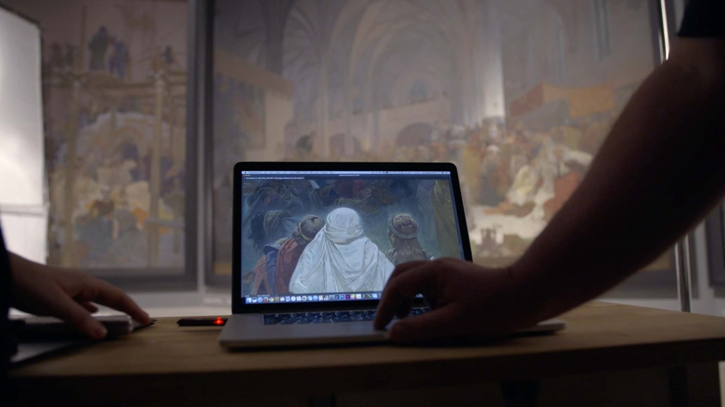 Digitisation of the Slav epic in numbers