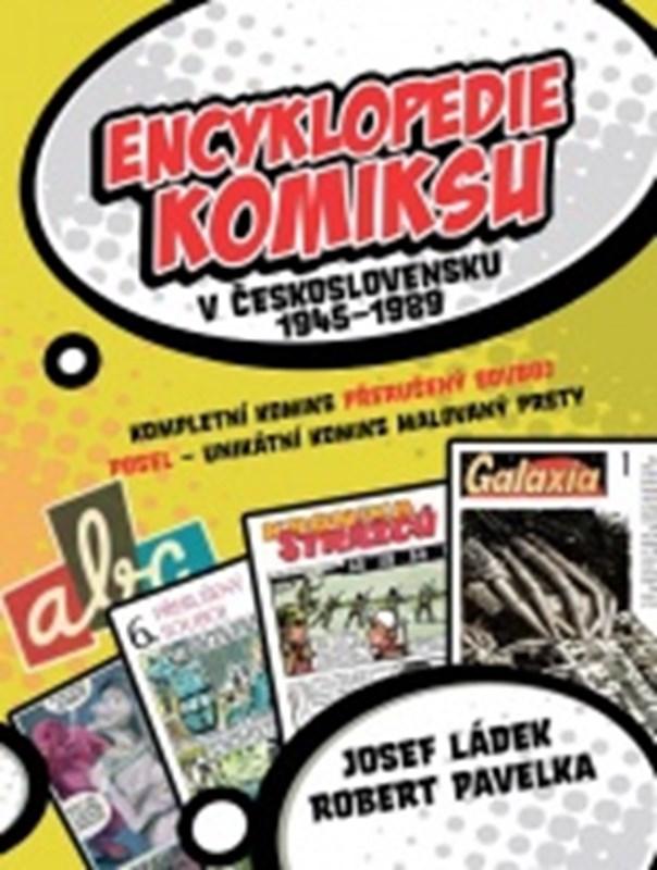 ENCYKLOPEDIE KOMIKSU V ČESKOSLOV.1945-89