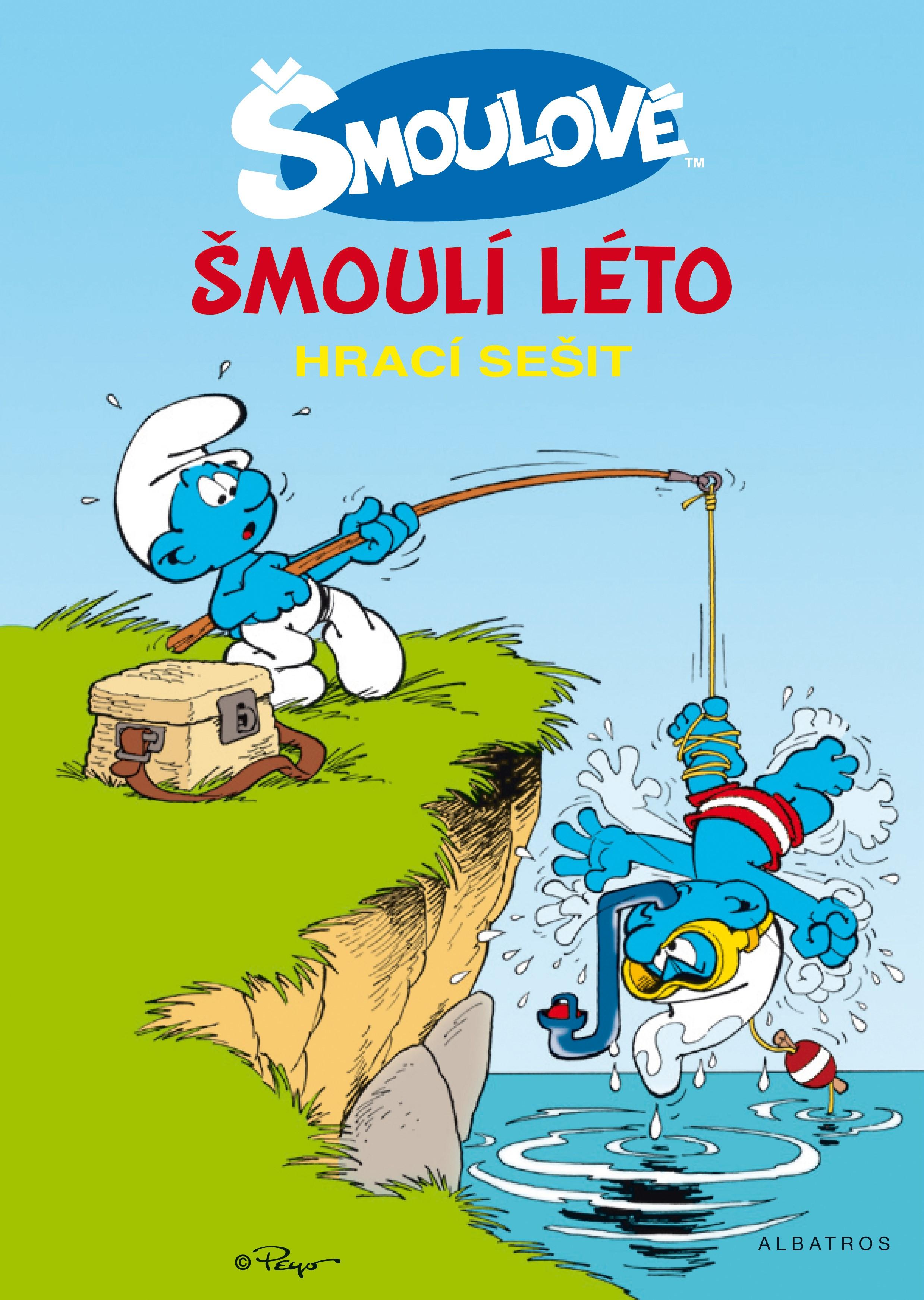 Šmoulí léto - hrací knížka | Peyo, Peyo