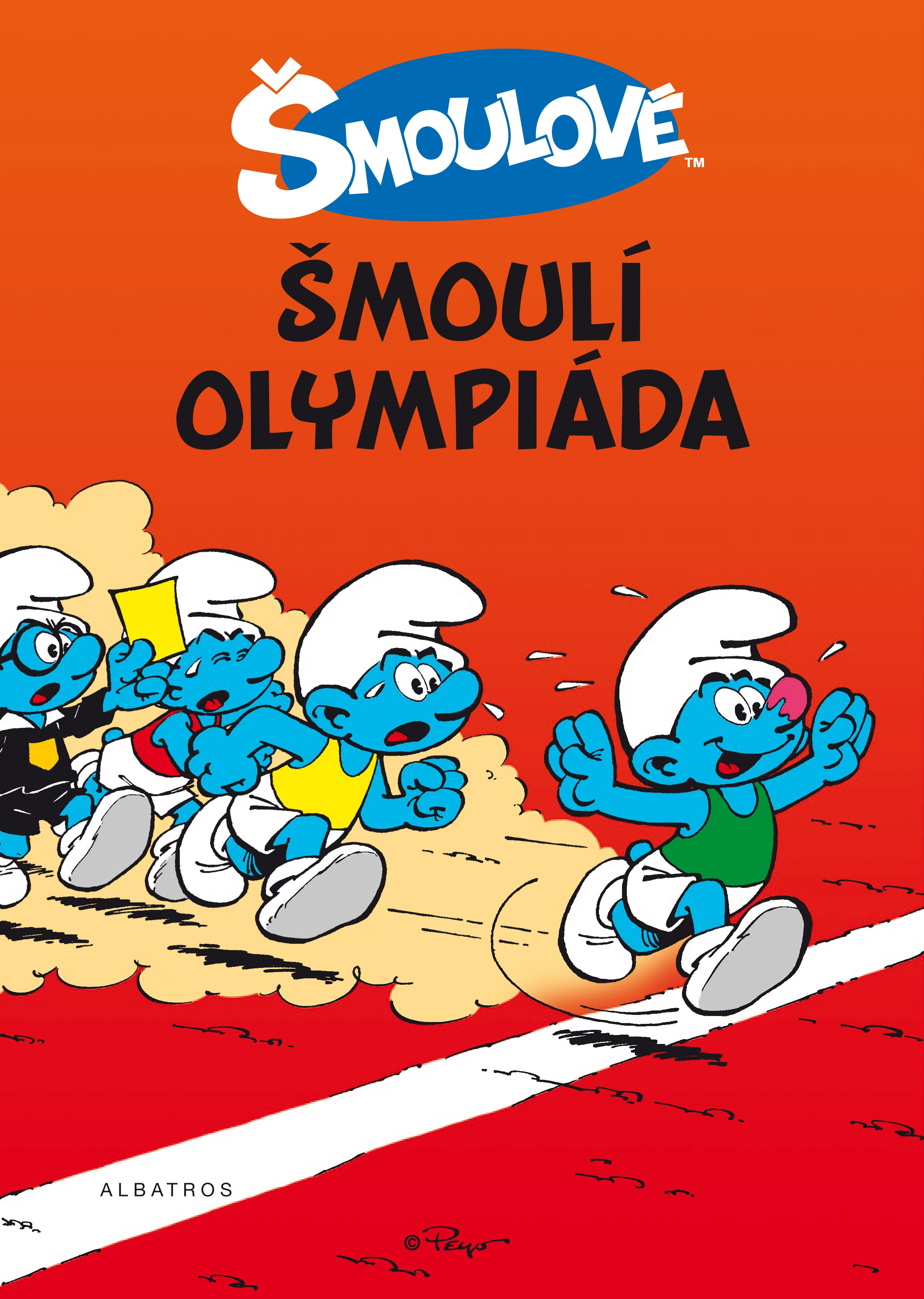 Šmoulí olympiáda - komiks | Peyo
