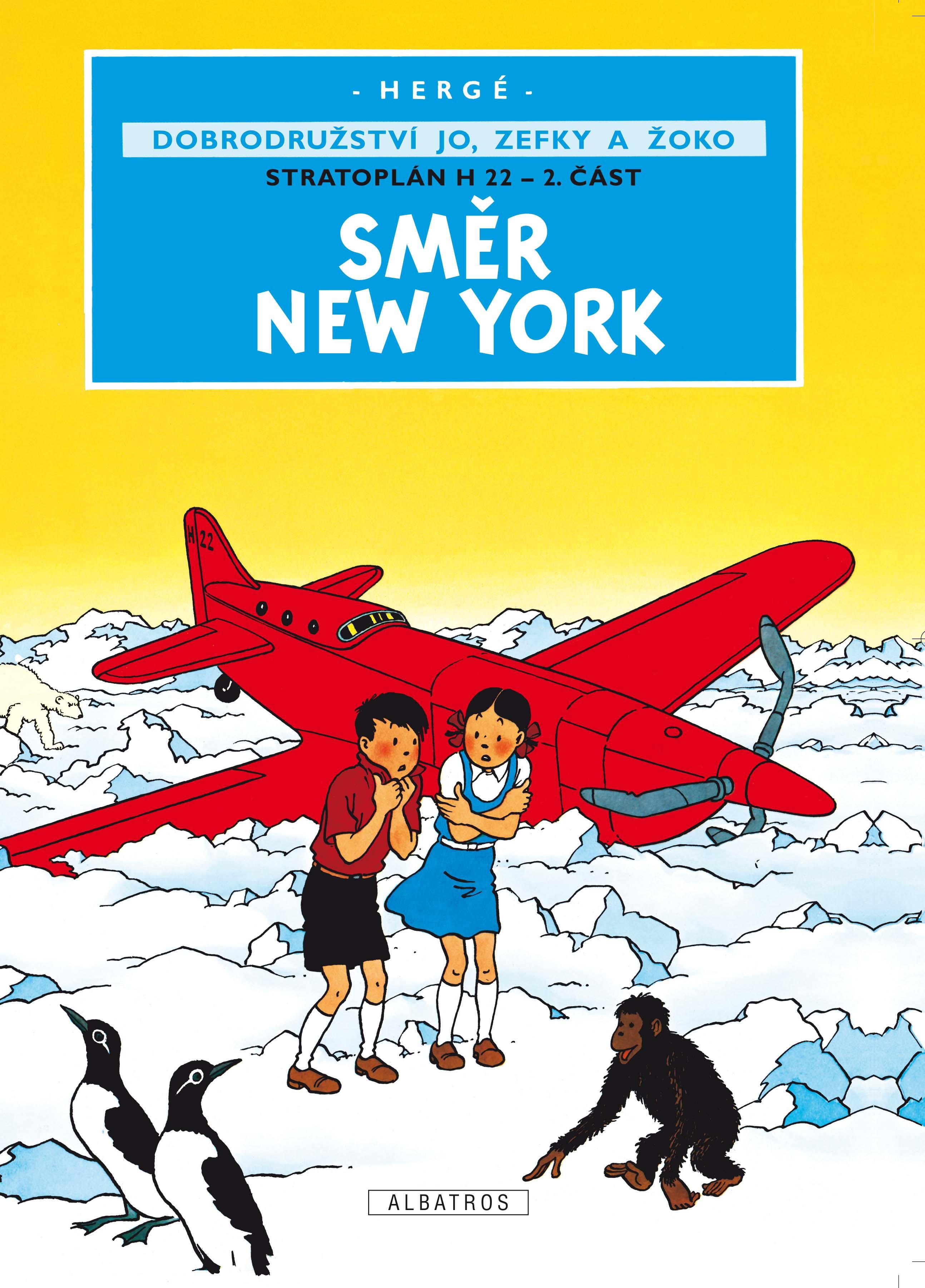 Jo, Zefka a Žoko (2) - Směr New York