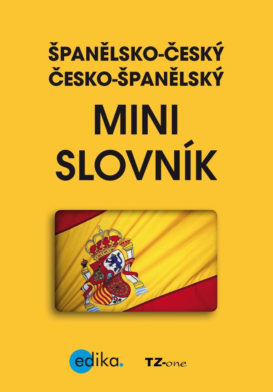 Španělsko-český česko-španělský mini slovník | TZ-one