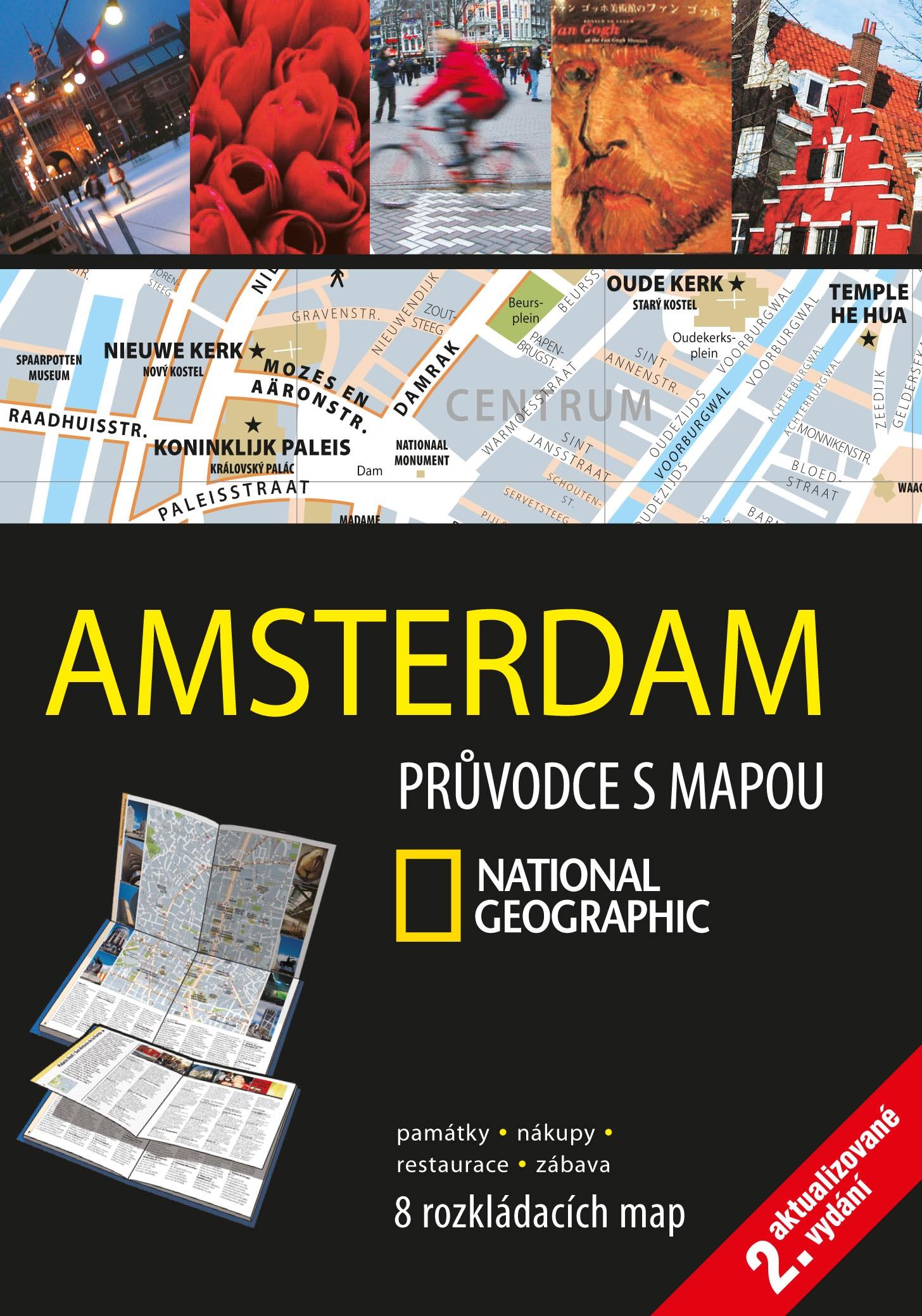 AMSTERDAM PRŮVODCE S MAPOU NATIONAL GEOGRAPHIC