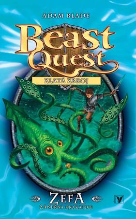 Zefa, zákeřná krakatice - Beast Quest (7) | David Wyatt, Adam Blade, Anna Vrbová