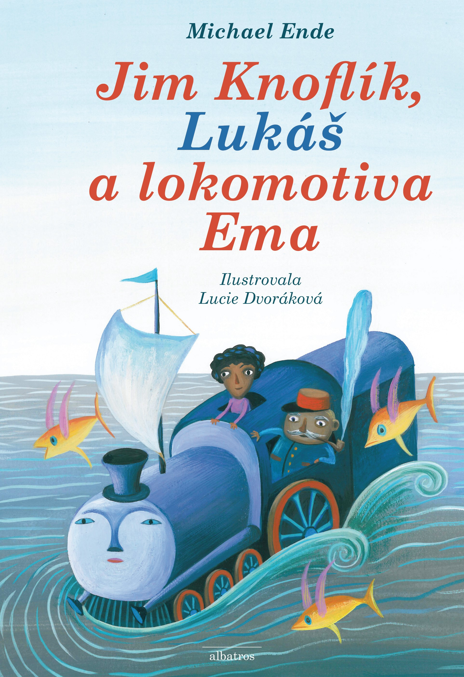 Jim Knoflík, Lukáš a lokomotiva Ema | Michael Ende