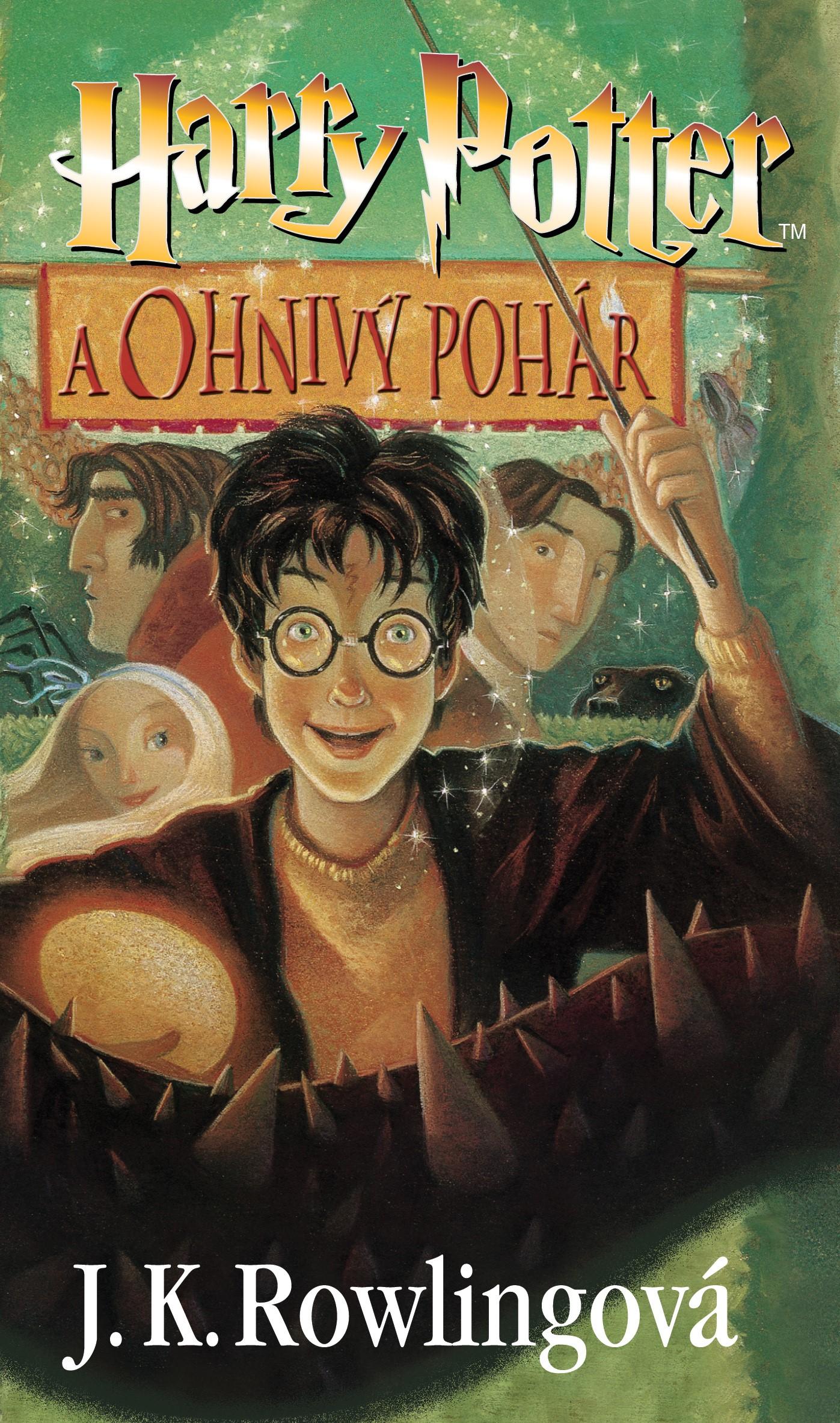 Harry Potter a Ohnivý pohár   J. K. Rowlingová