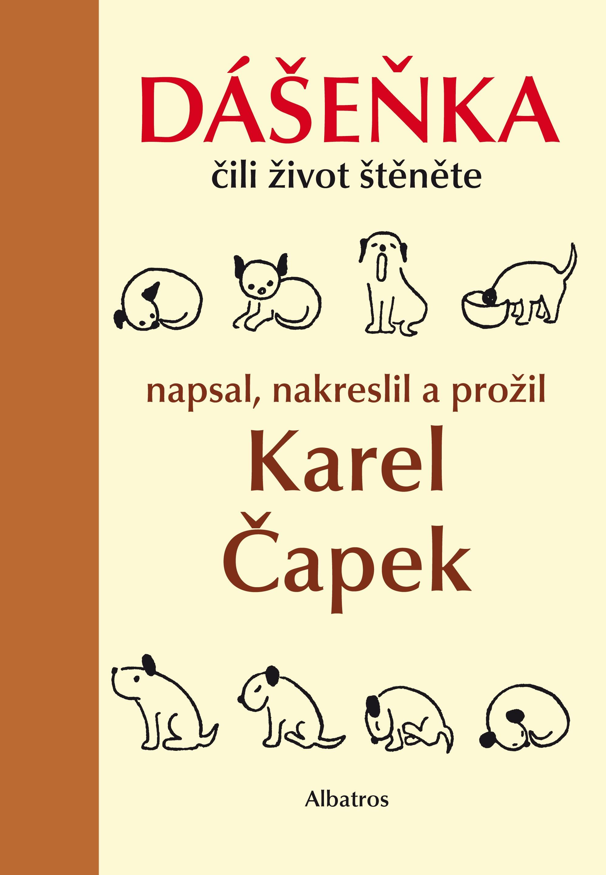Kniha Dášeňka čili život štěněte (Karel Čapek)