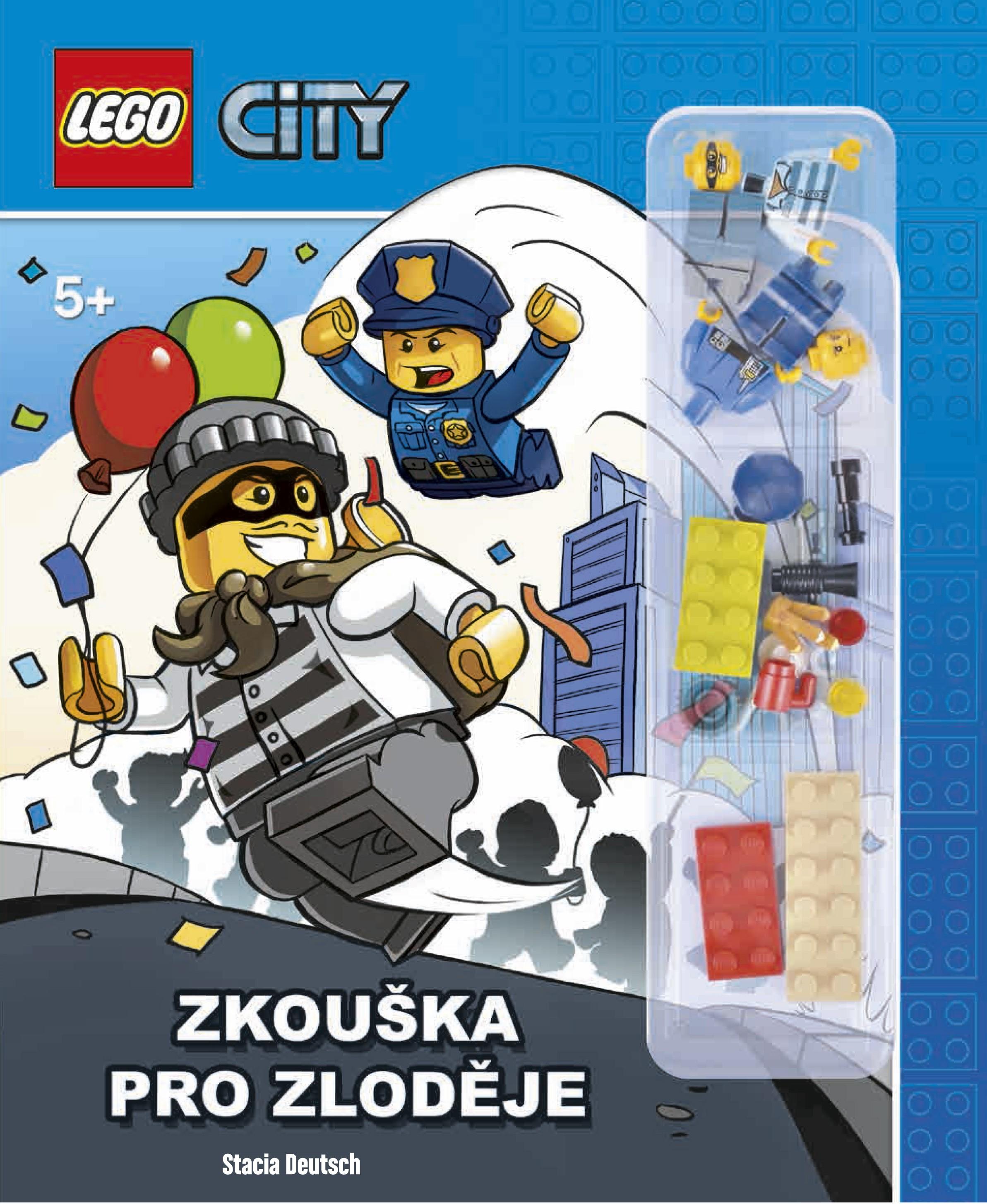 LEGO® CITY Zkouška pro zloděje | Stacia Deutschová