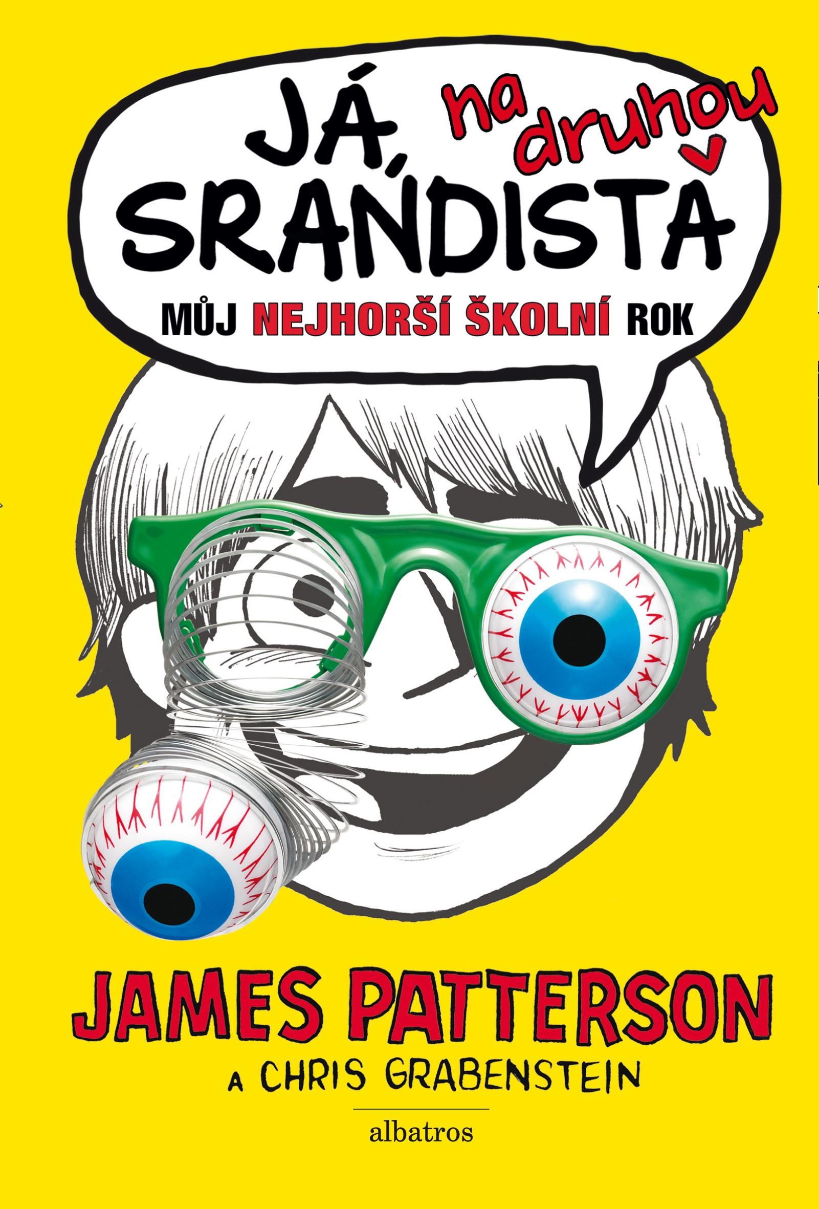 Já, srandista na druhou | James Patterson, Chris Grabenstein