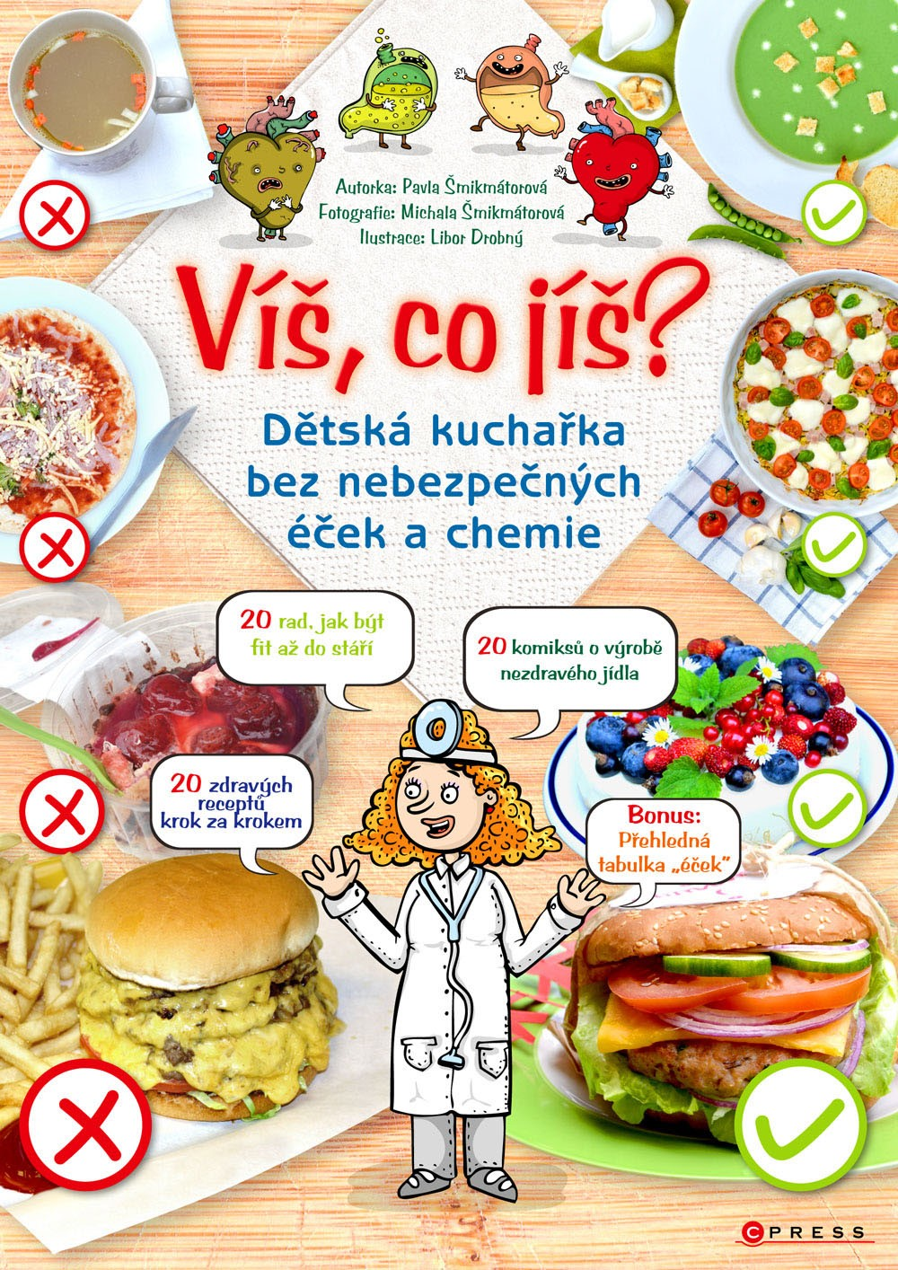Víš, co jíš? | Pavla Šmikmátorová, Libor Drobný