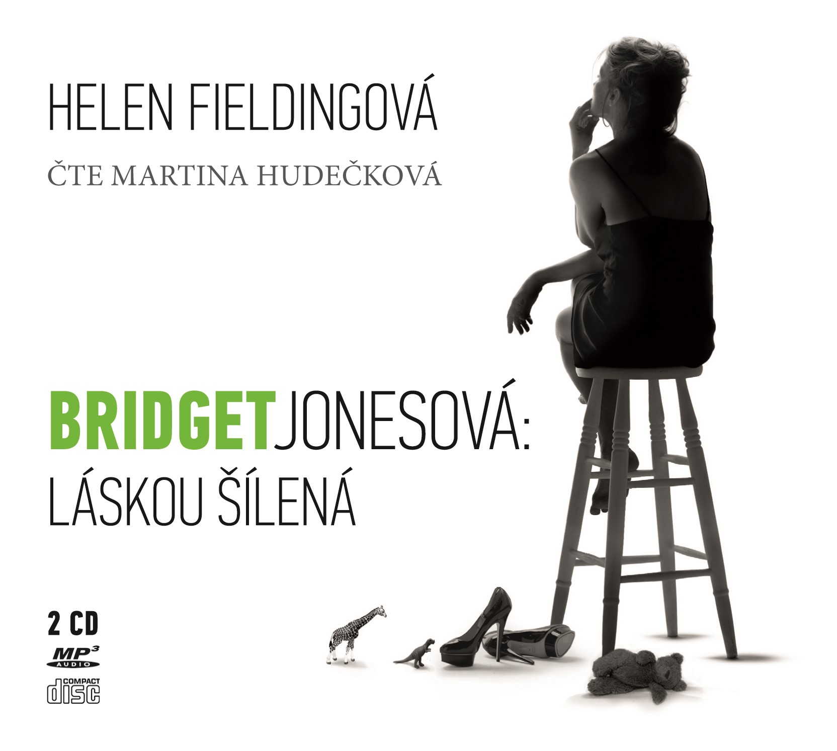 BRIDGET JONESOVÁ: LÁSKOU ŠÍLENÁ AUDIO CD