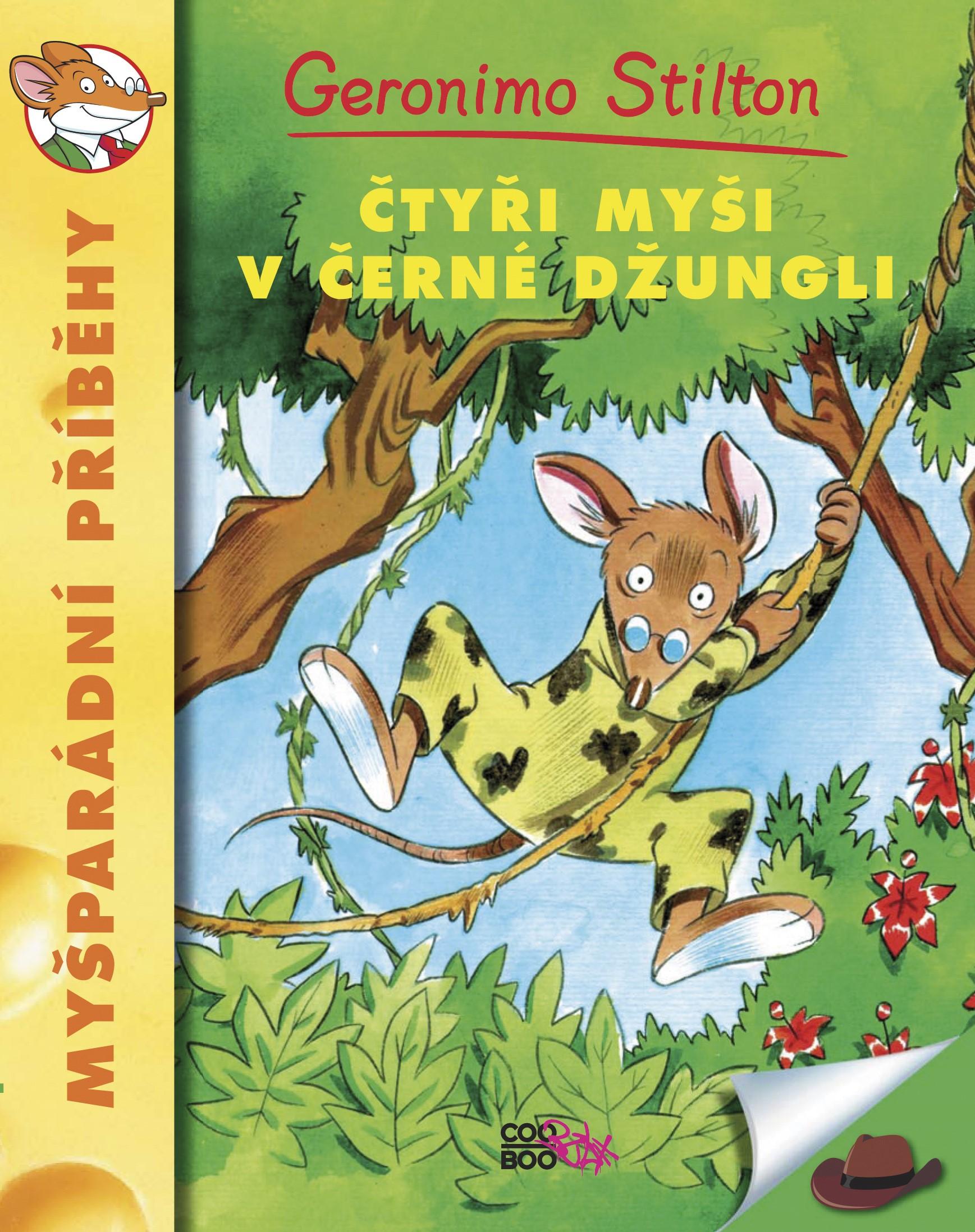 Čtyři myši v černé džungli | Geronimo Stilton