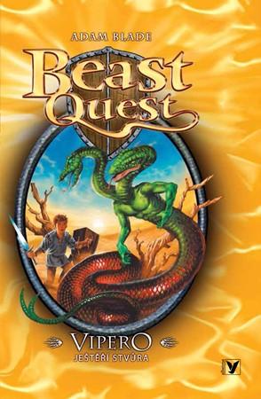 Vipero, ještěří stvůra, Beast Quest (10) | David Wyatt, Adam Blade, Anna Vrbová