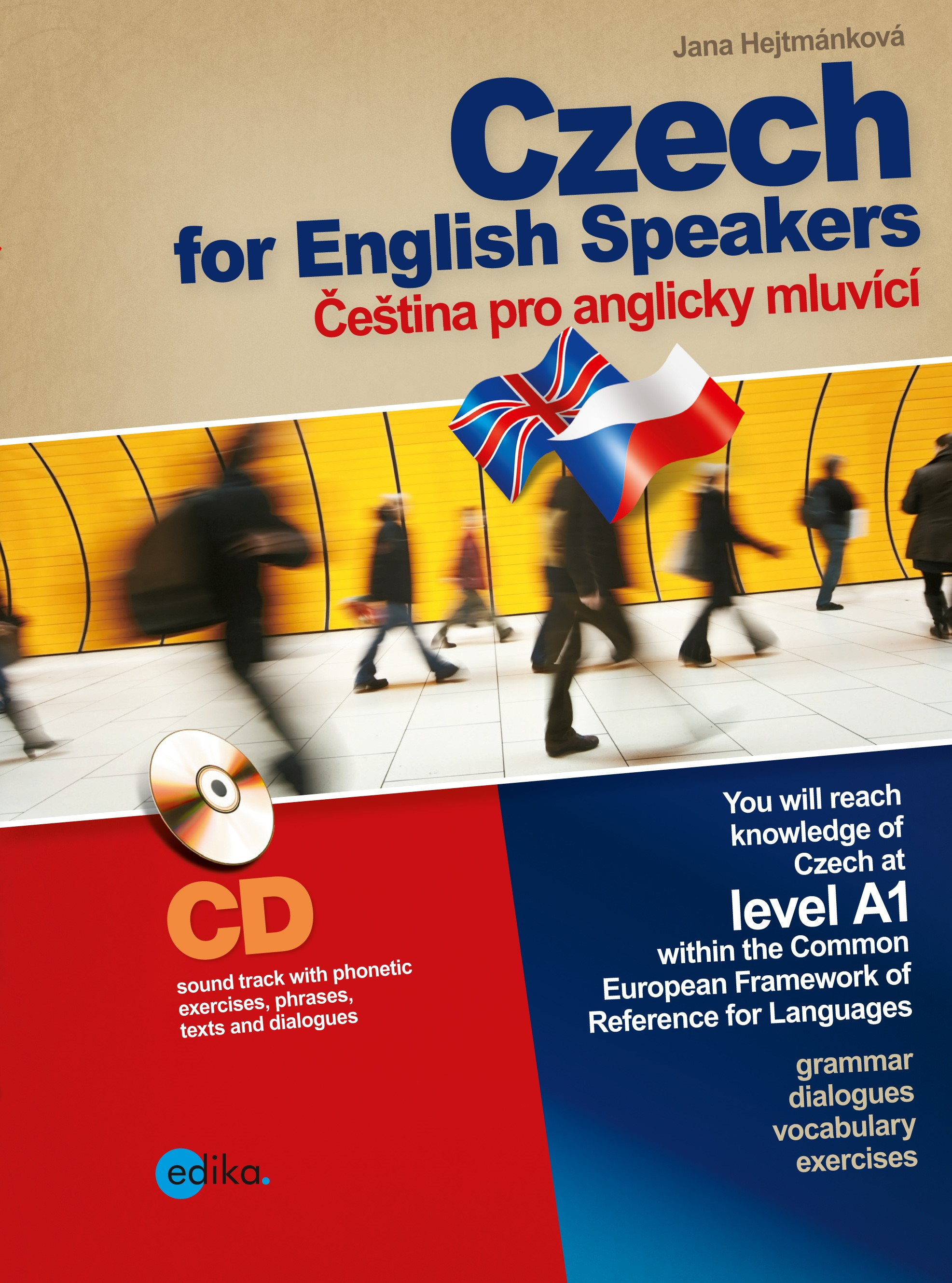 CZECH FOR ENGLISH SPEAKERS + CD