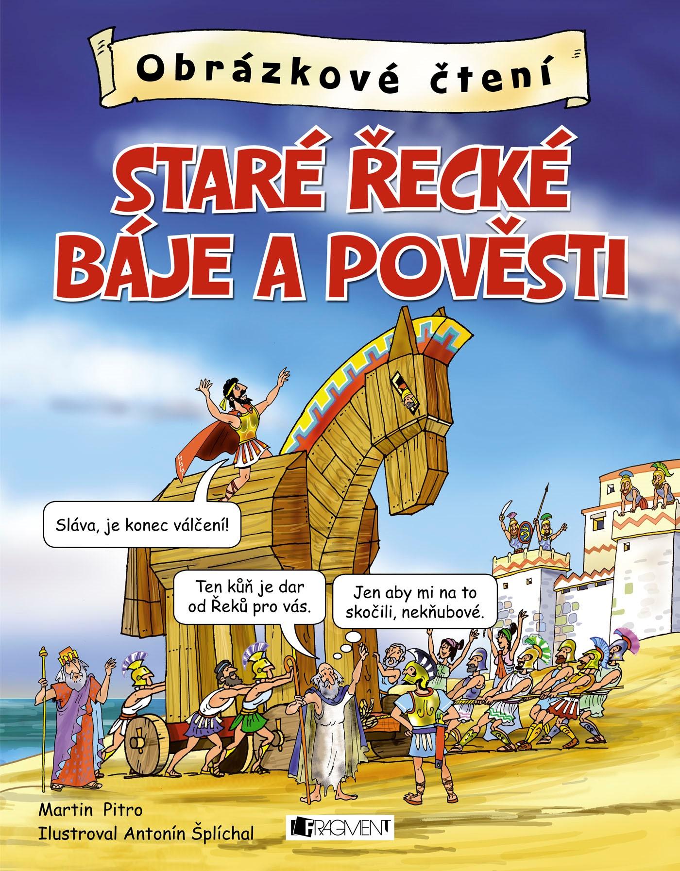 Obrázkové čtení – Staré řecké báje a pověsti