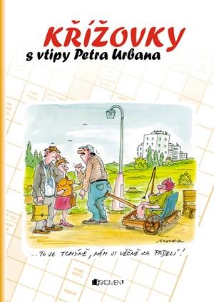 Křížovky s vtipy Petra Urbana - oranžová