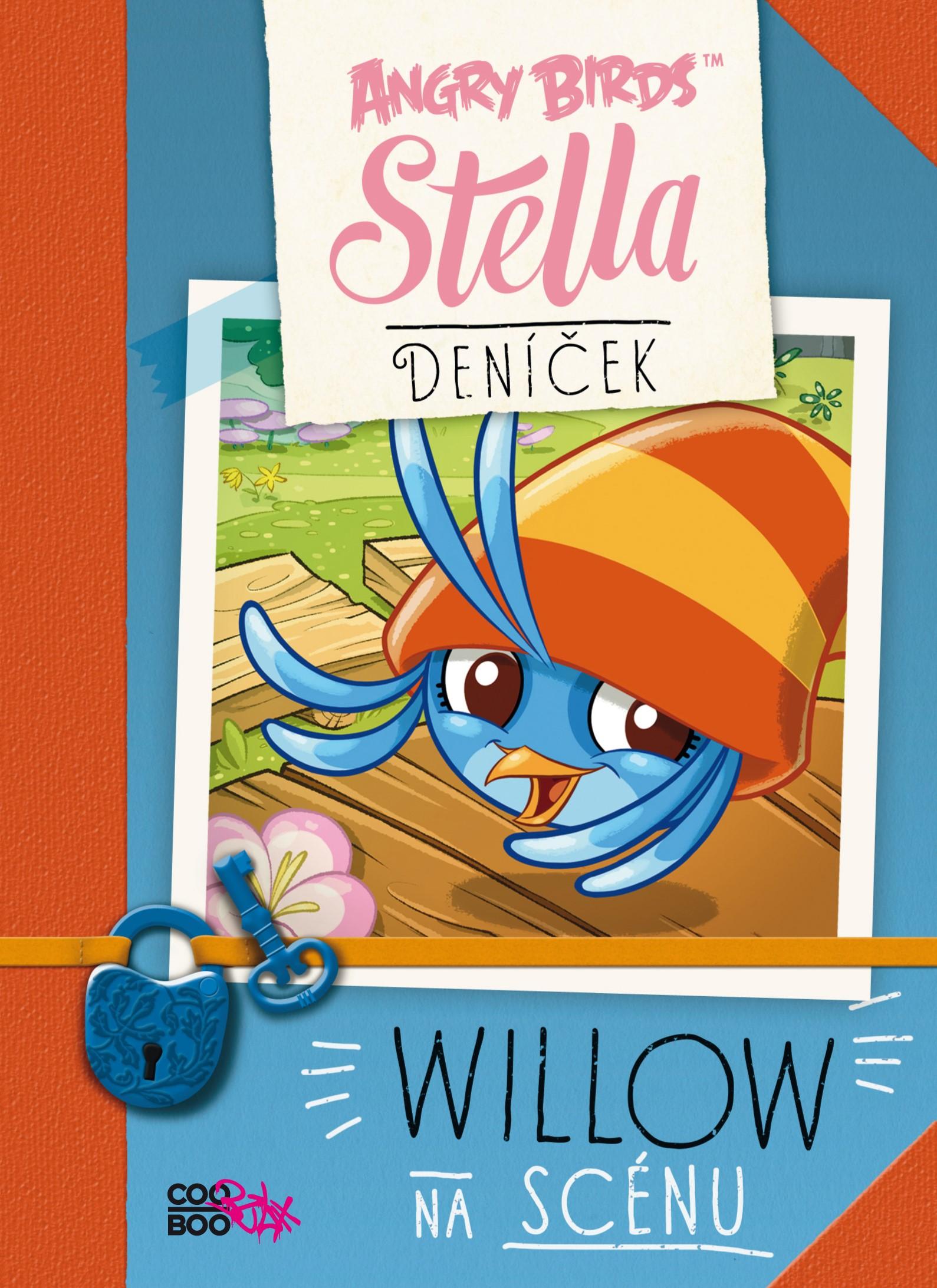 Angry Birds - Stella - Willow na scénu   kolektív