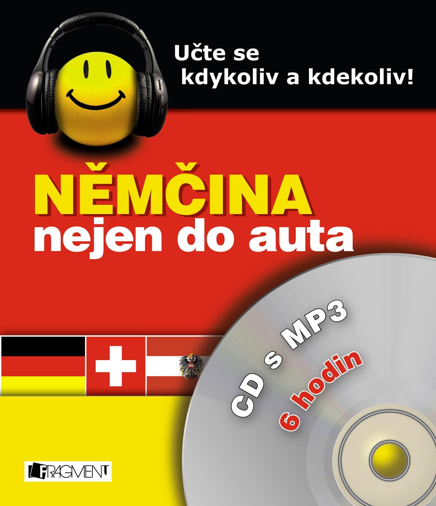 Němčina nejen do auta – CD s MP3 | Kostnerová Ilona