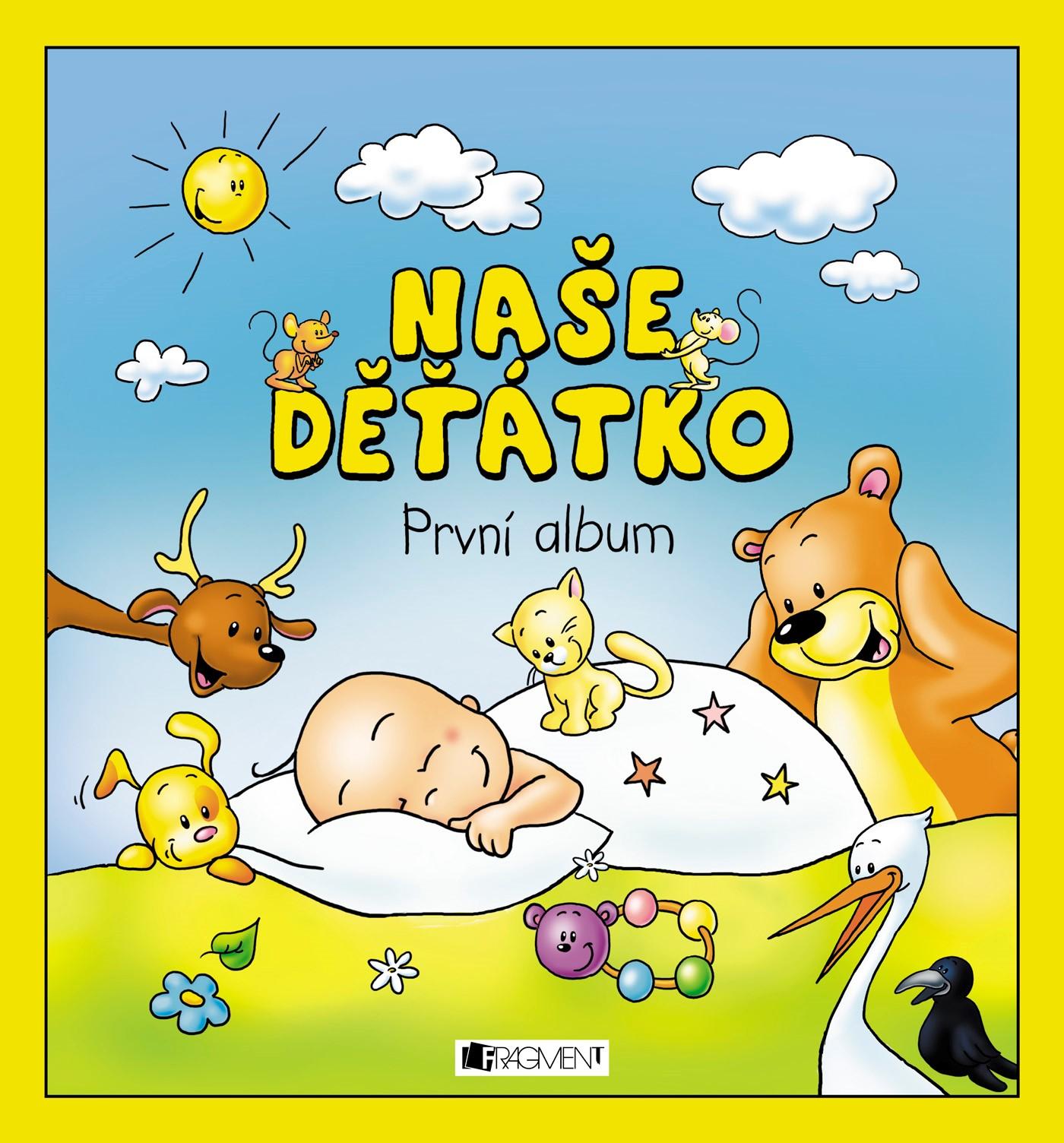 Naše děťátko – První album (měkká vazba)