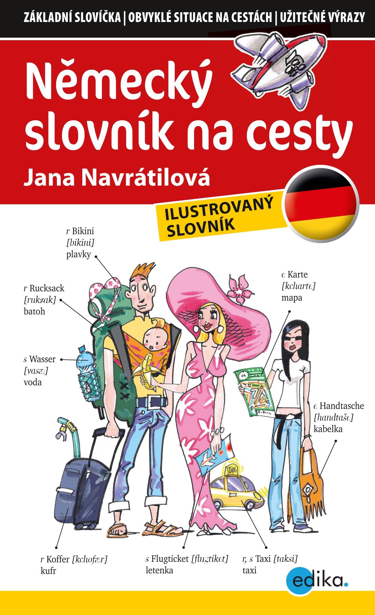Německý slovník na cesty | Jana Navrátilová