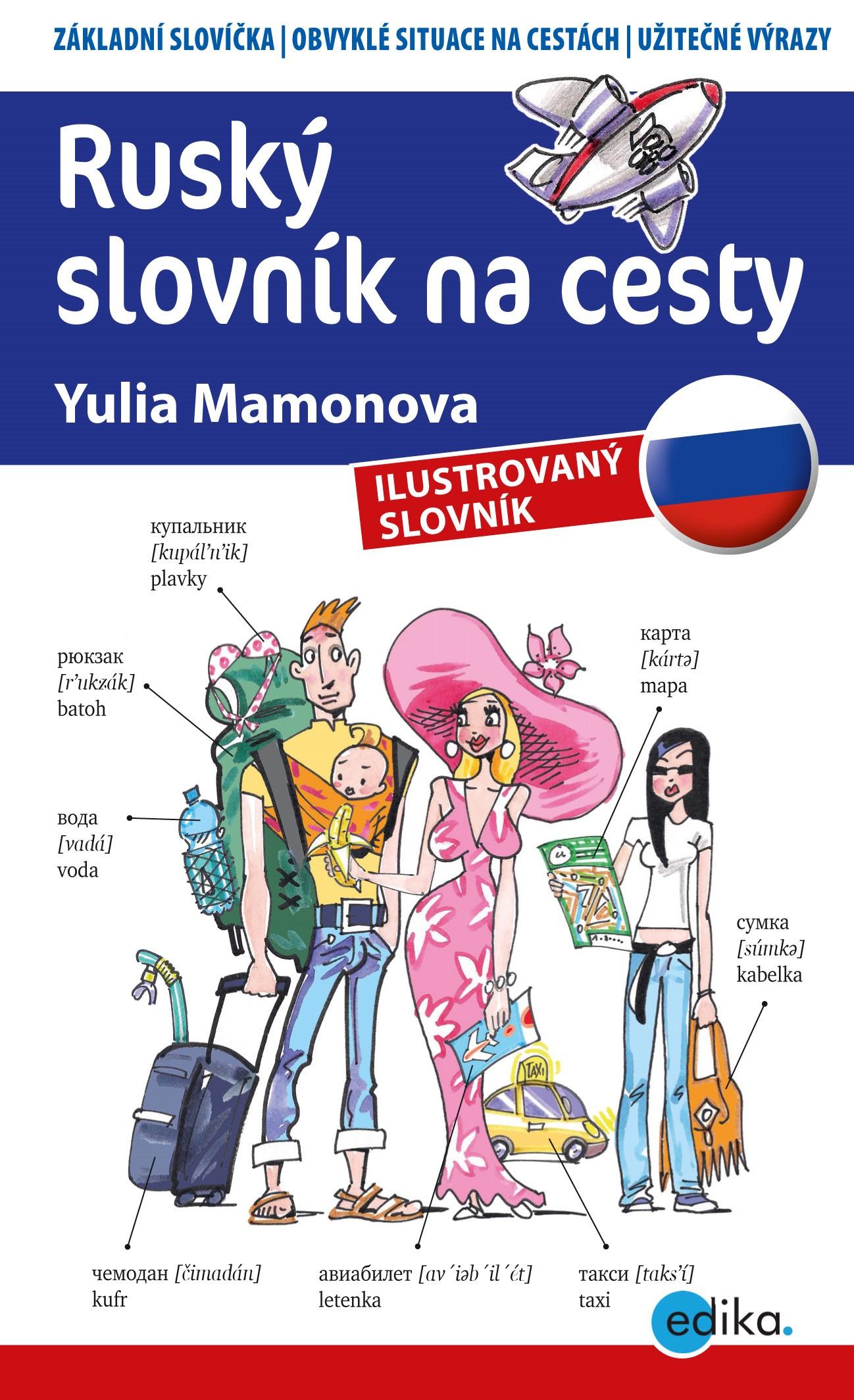 Ruský slovník na cesty   Yulia Mamonova