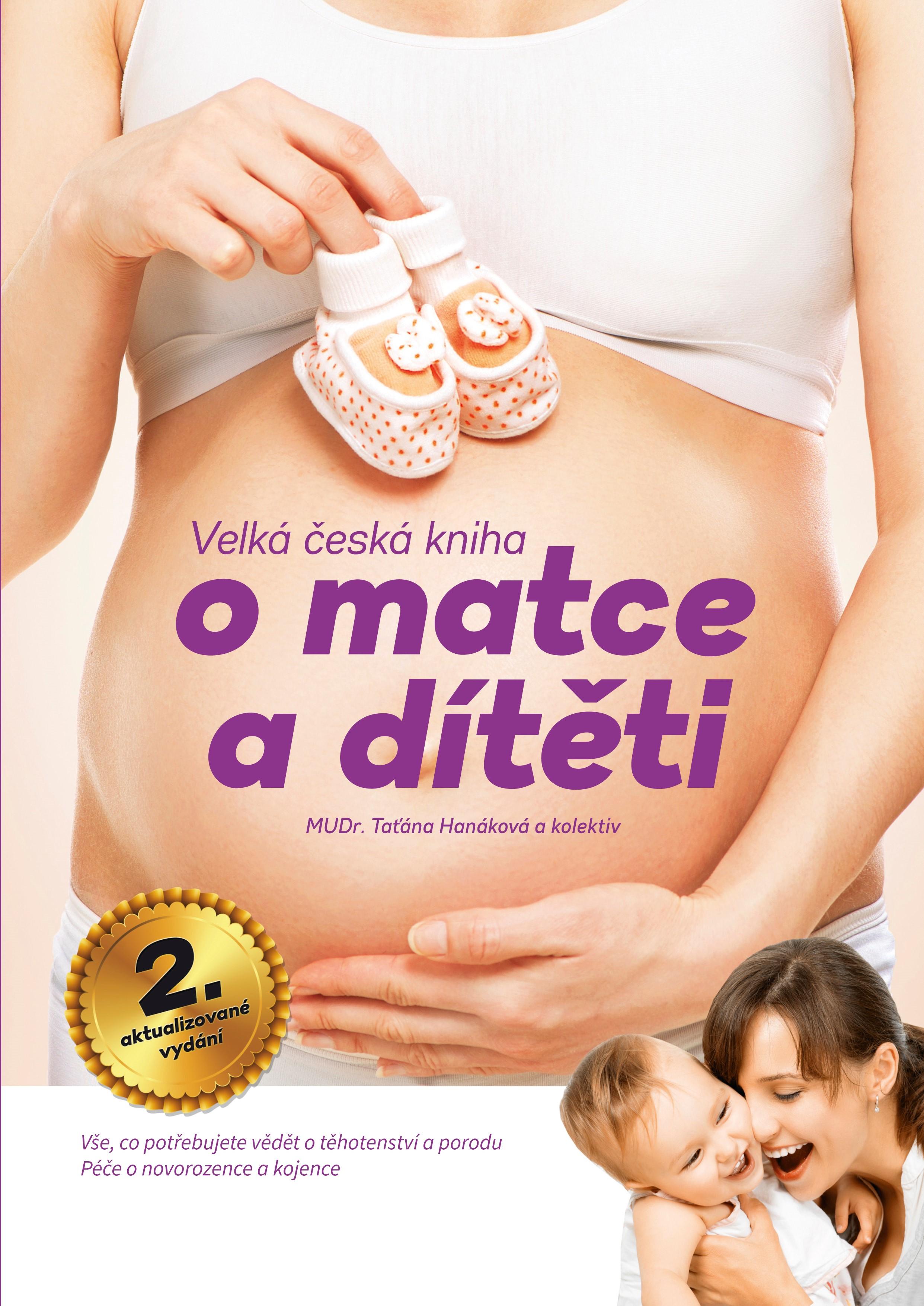Velká česká kniha o matce a dítěti, 2.aktualizované vydání | Taťána Hanáková, Magdalena Chvílová Weberová, Pavla Volná