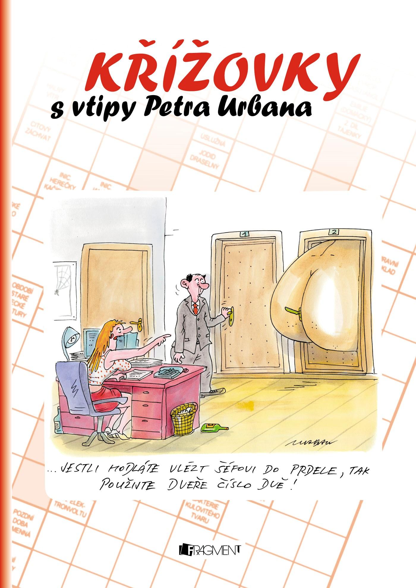 Křížovky s vtipy Petra Urbana - červená