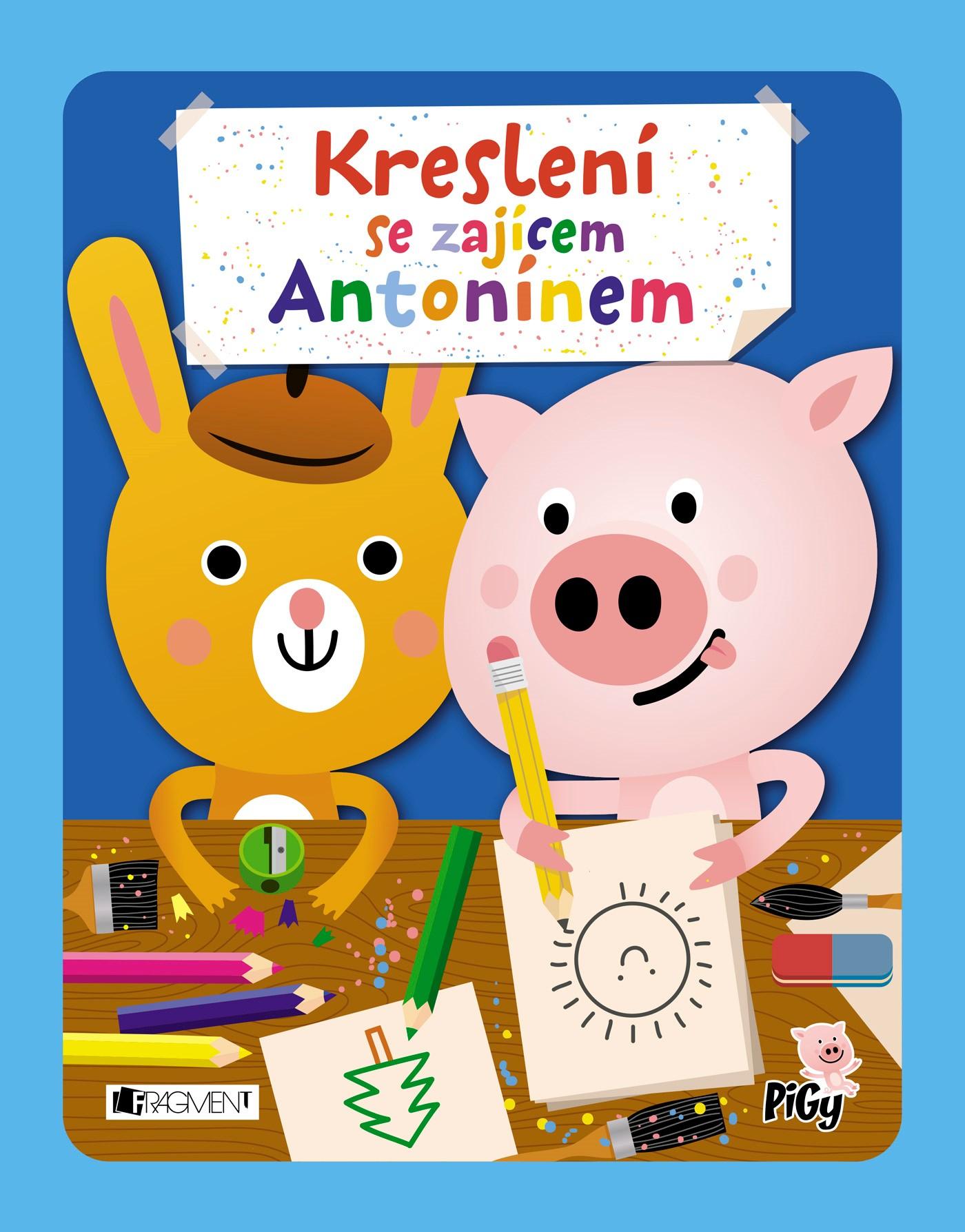 Kreslení se zajícem Antonínem | Jan Vajda, Zuzana Pavésková