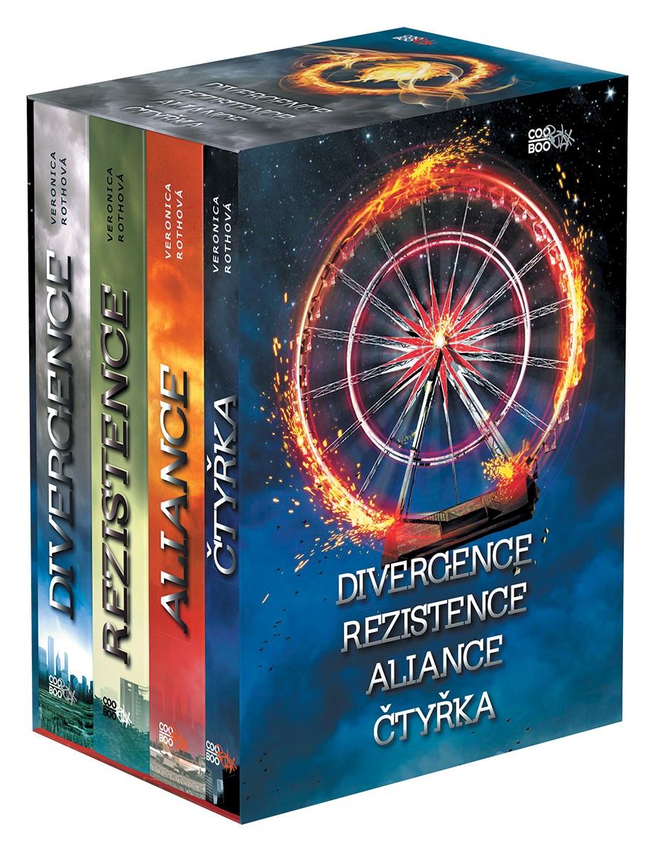 Divergentní trilogie + Čtyřka BOX | Veronica Rothová