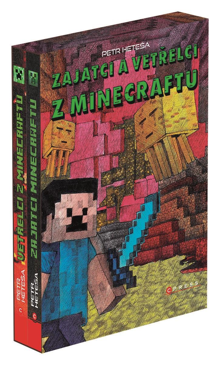 Zajatci a Vetřelci z Minecraftu – BOX   Petr Heteša, Petr Heteša