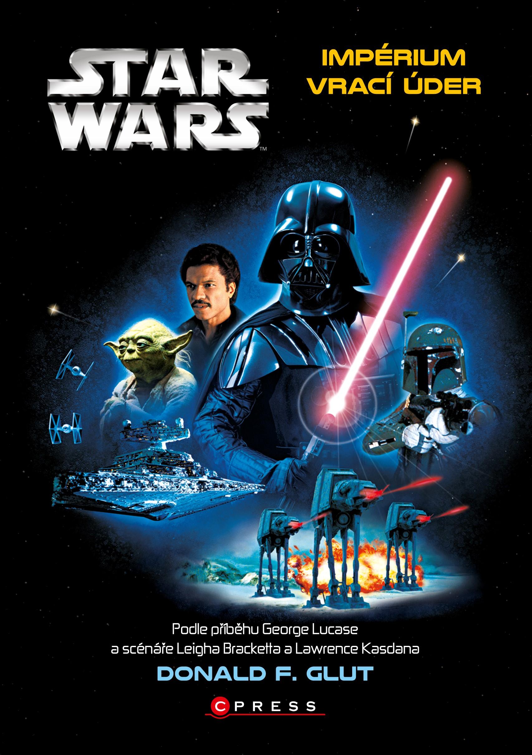 Star Wars: Impérium vrací úder | Donald F. Glut, George Lucas