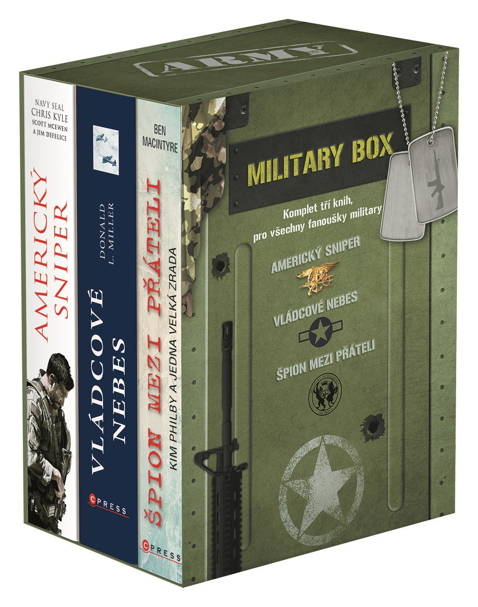 Military BOX | Ben Macintyre, Donald L. Miller, Jim DeFelice, Chris Kyle, Scott McEwen