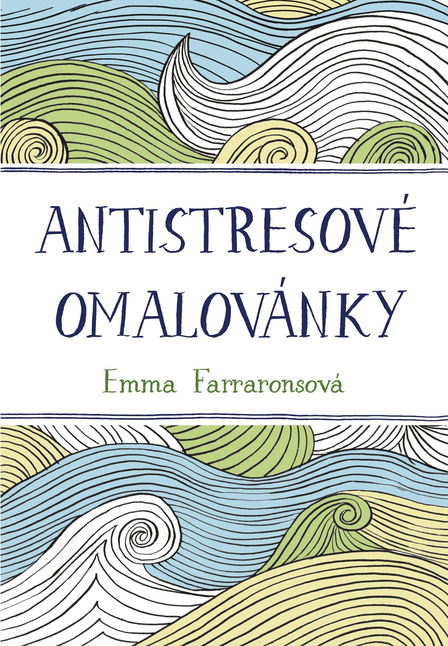Antistresové omalovánky   Emma Farraronsová