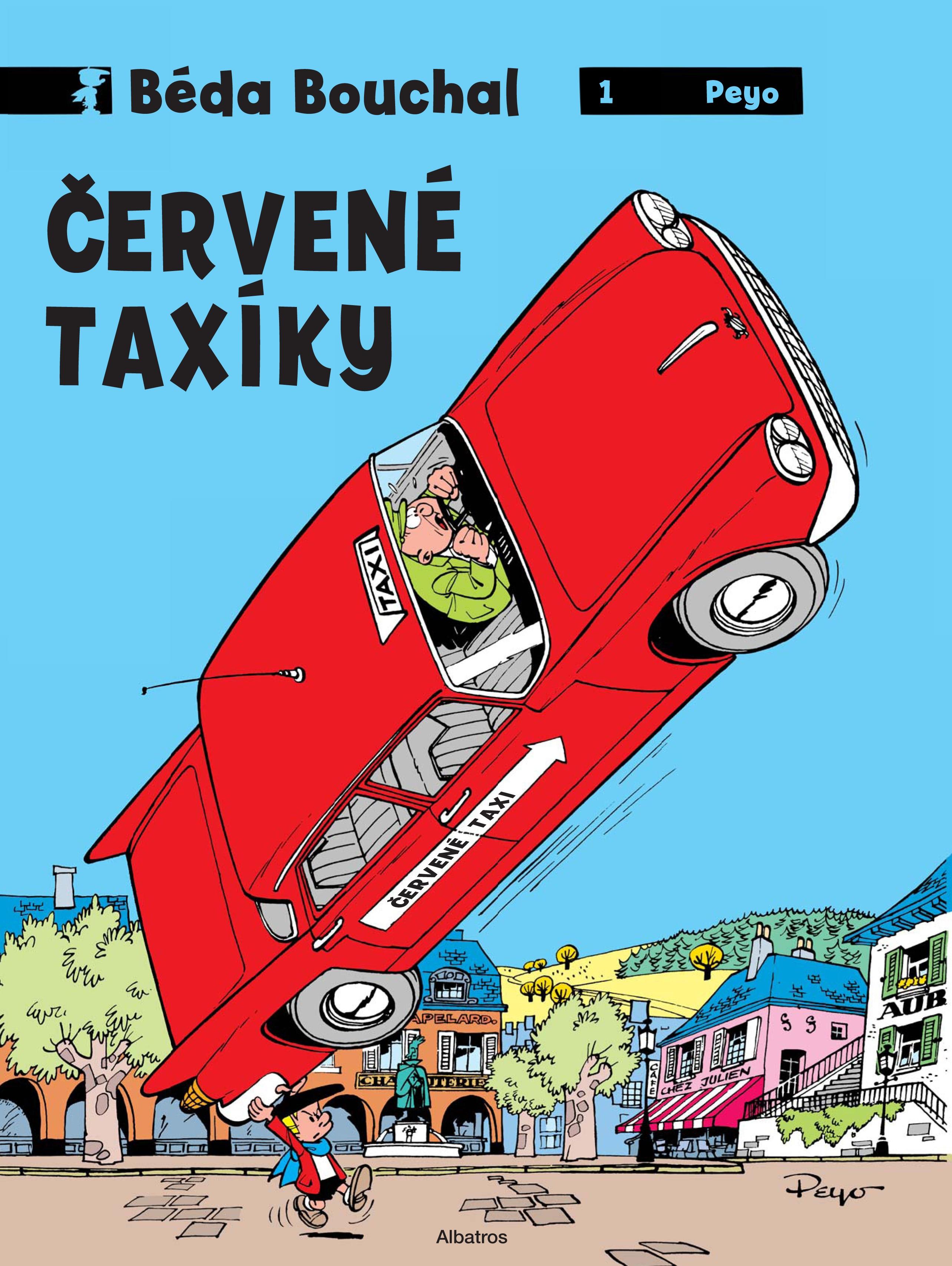 Béda Bouchal - Červené taxíky | Peyo