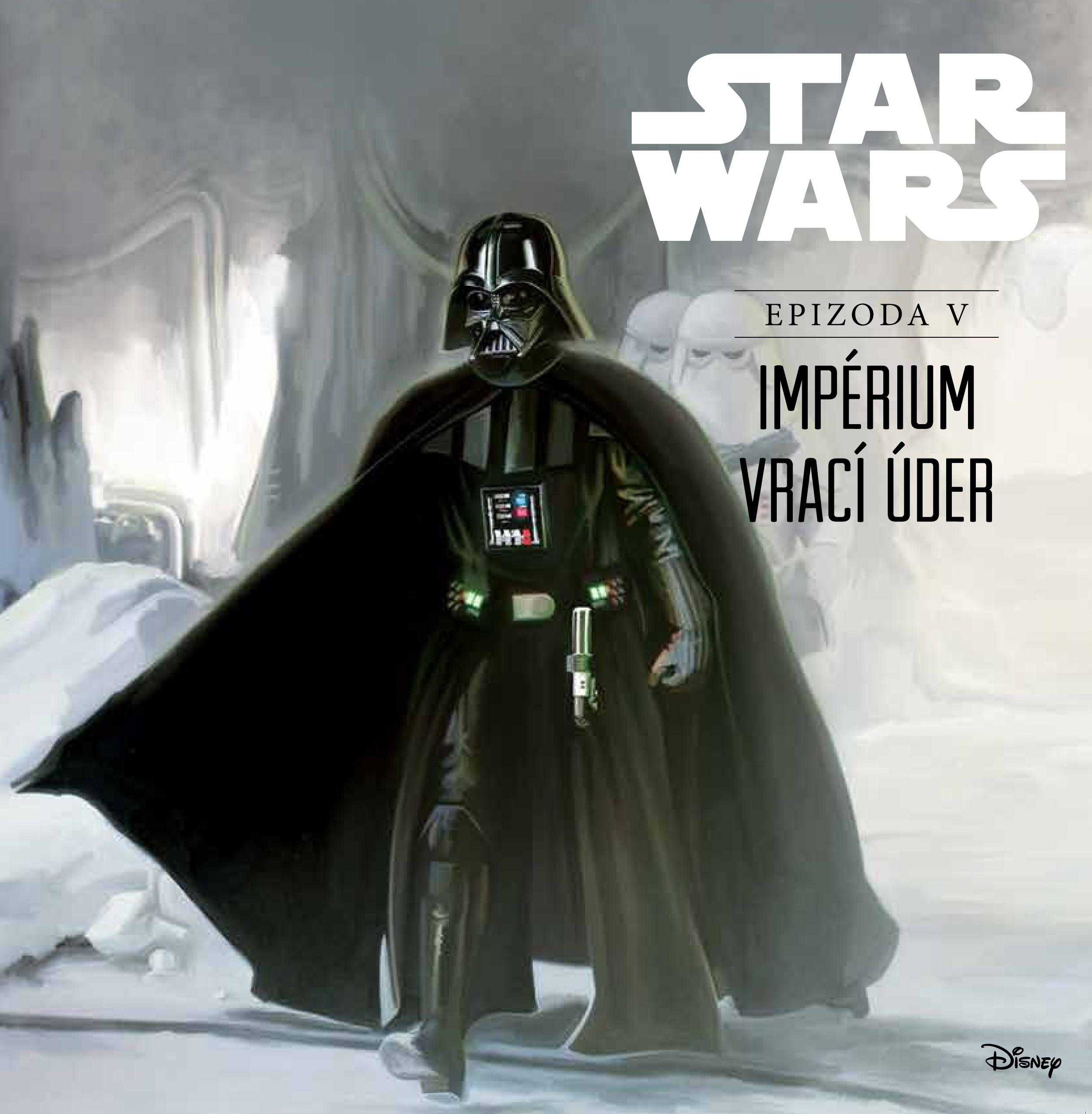 Star Wars V: Impérium vrací úder (ilustrované vydání) | Ryder Windham
