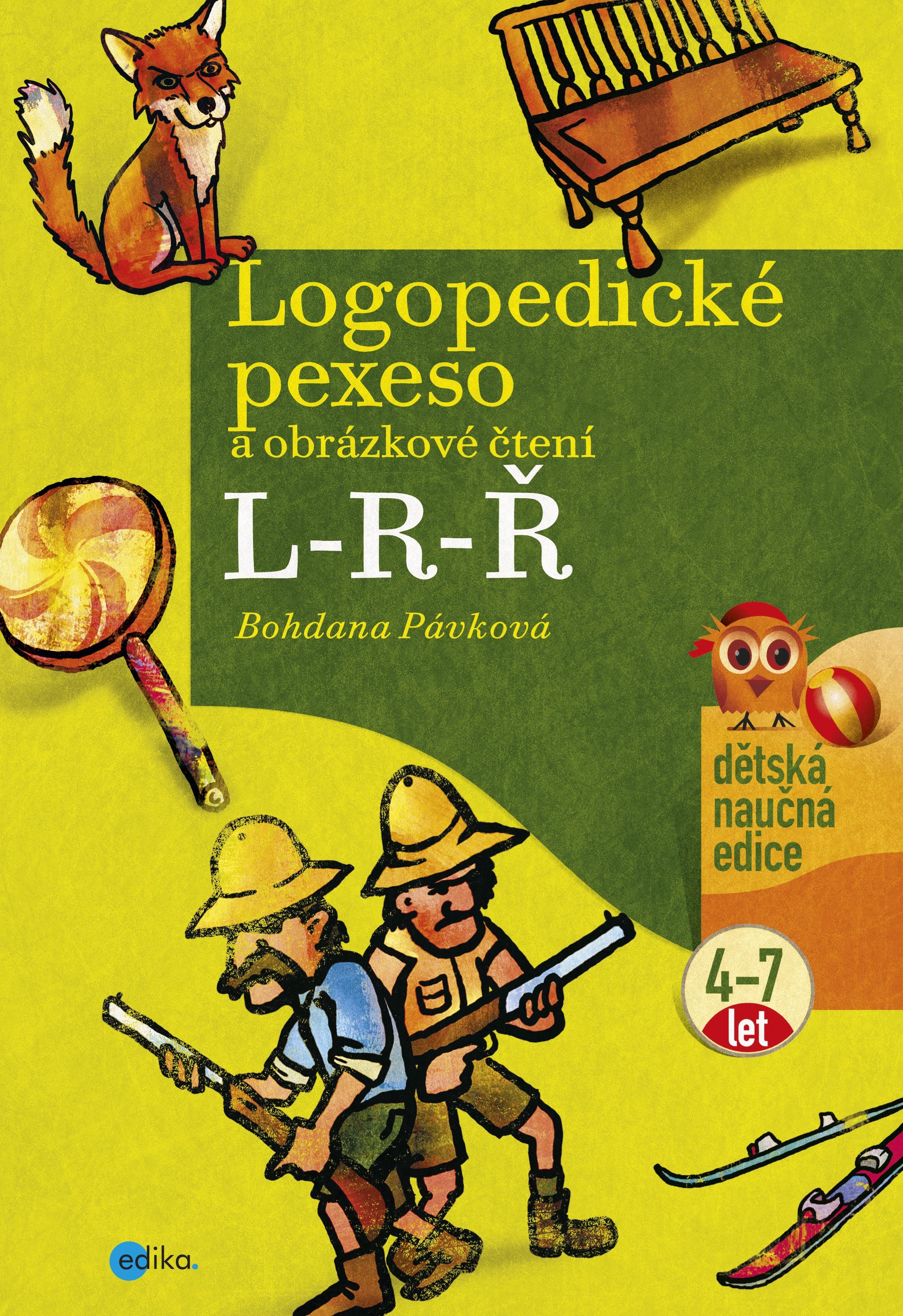 Logopedické pexeso a obrázkové čtení L-R-Ř | Bohdana Pávková