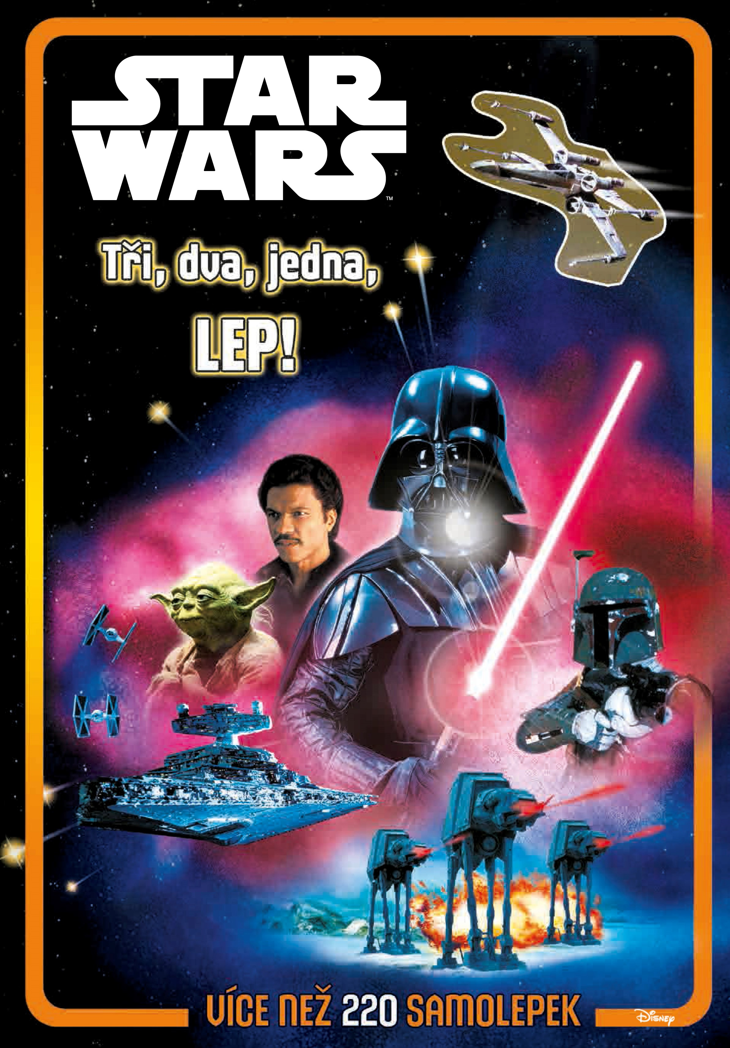 Star Wars - Tři, dva, jedna, lep! |