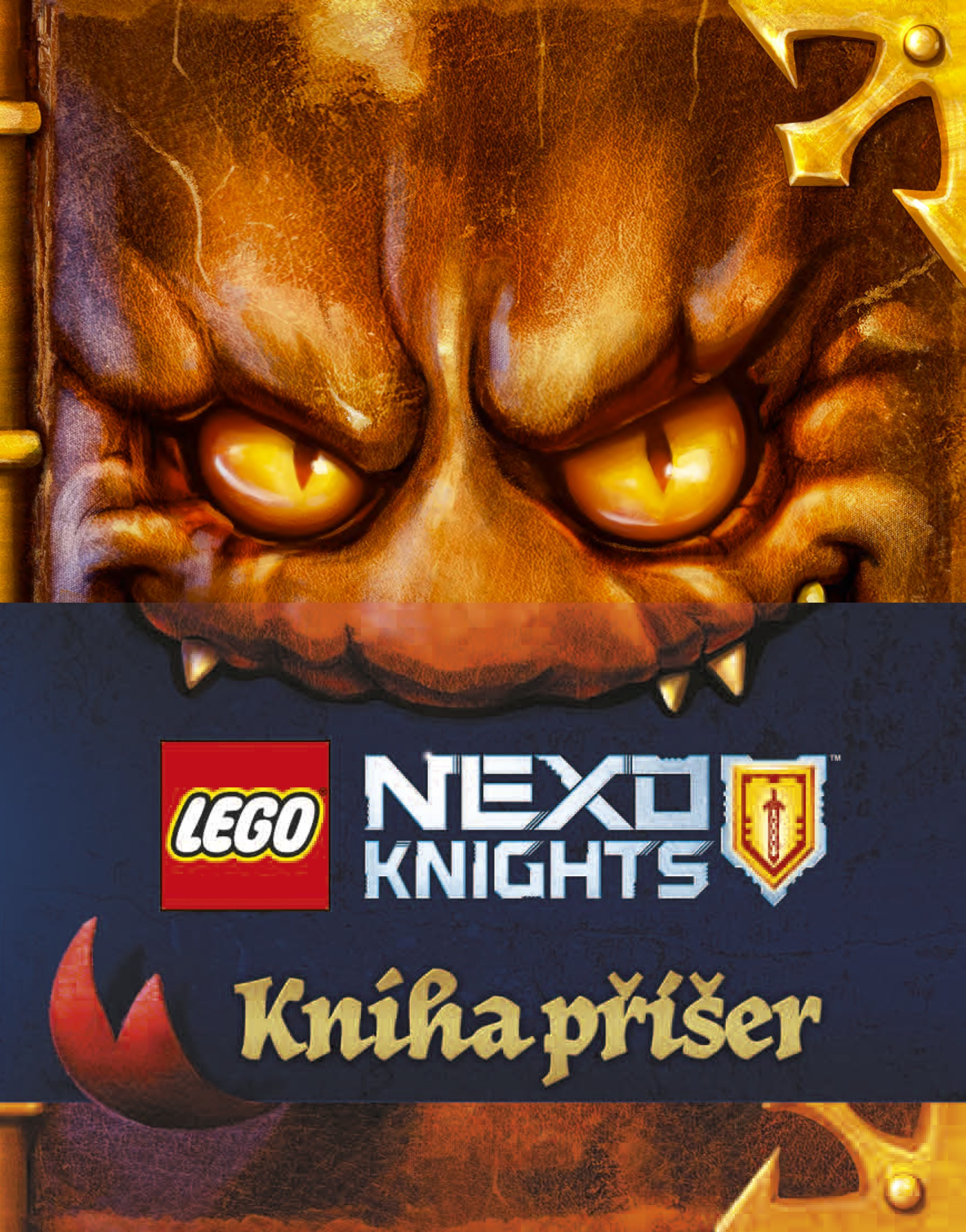 LEGO® NEXO KNIGHTS™ Kniha příšer | kolektiv