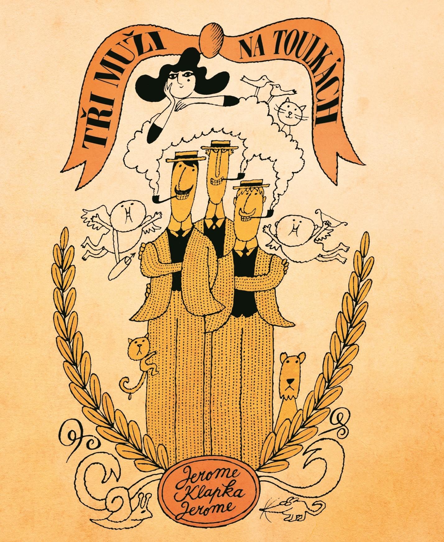 Tři muži na toulkách | Jerome Klapka Jerome