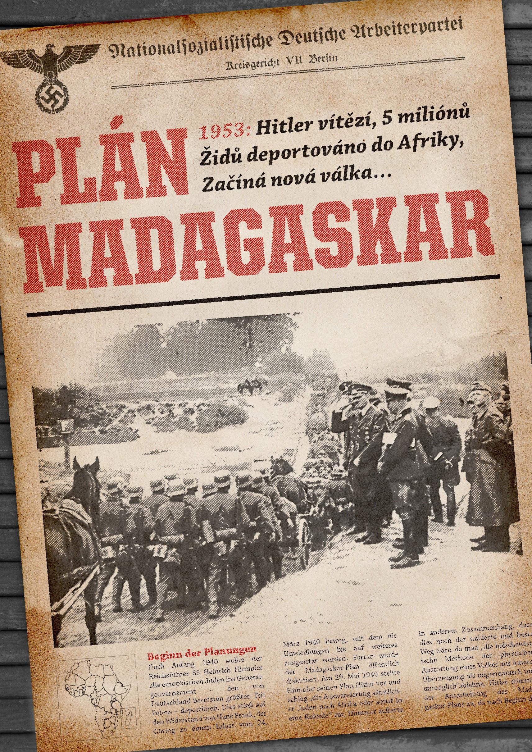 Plán Madagaskar | Guy Saville