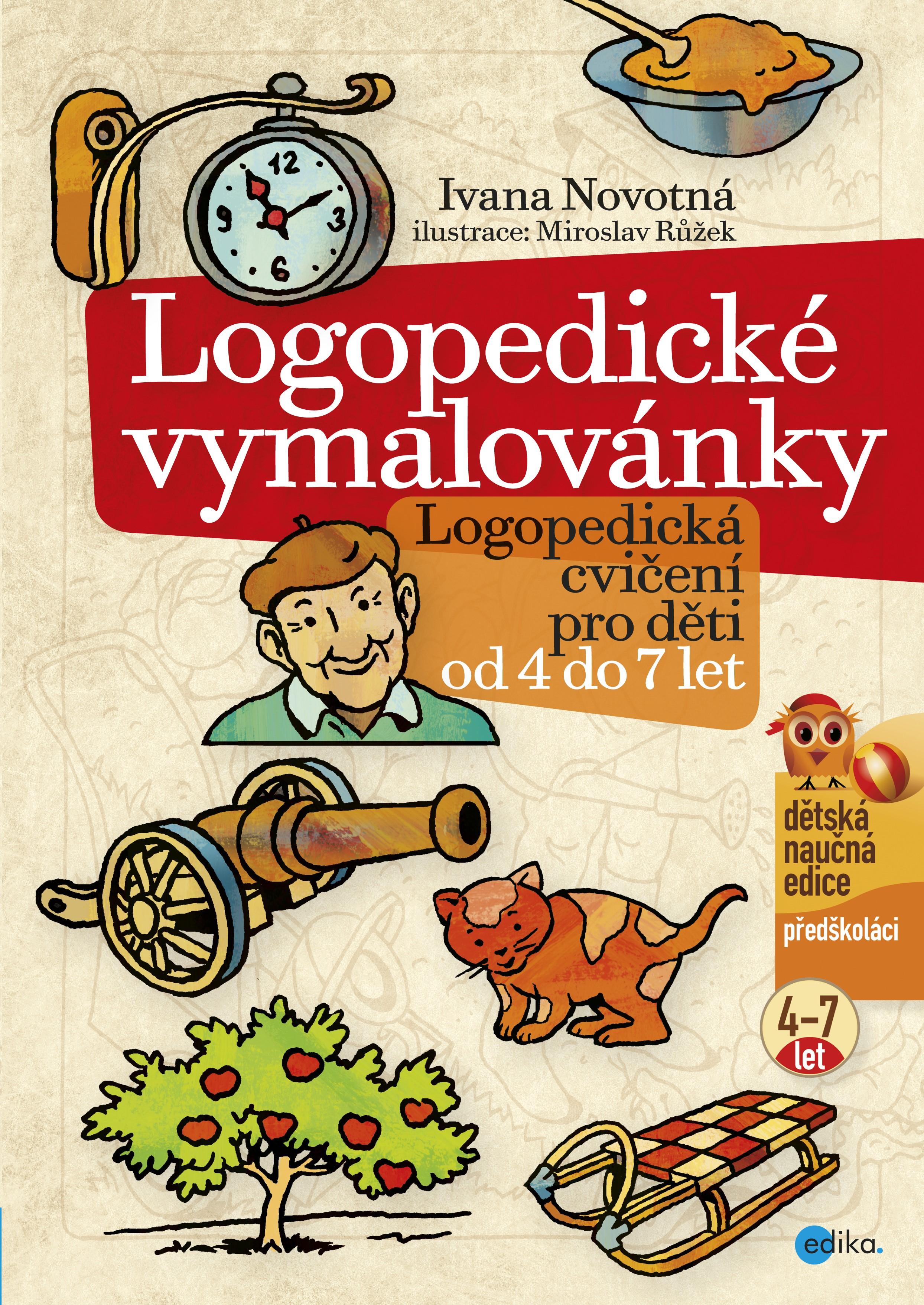 Logopedické vymalovánky   Ivana Novotná