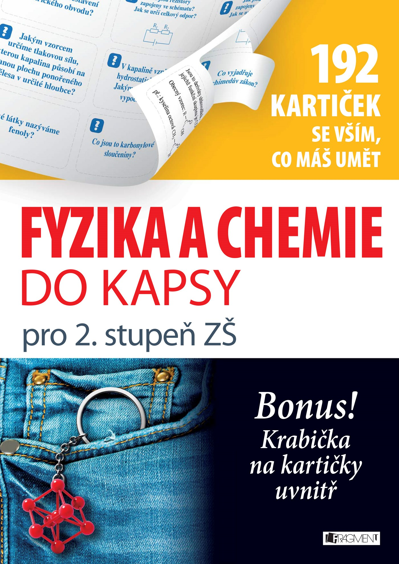 Fyzika a chemie do kapsy pro 2. stup. ZŠ  (192 kartiček)