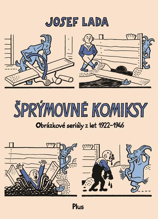 Šprýmovné komiksy | Josef Lada
