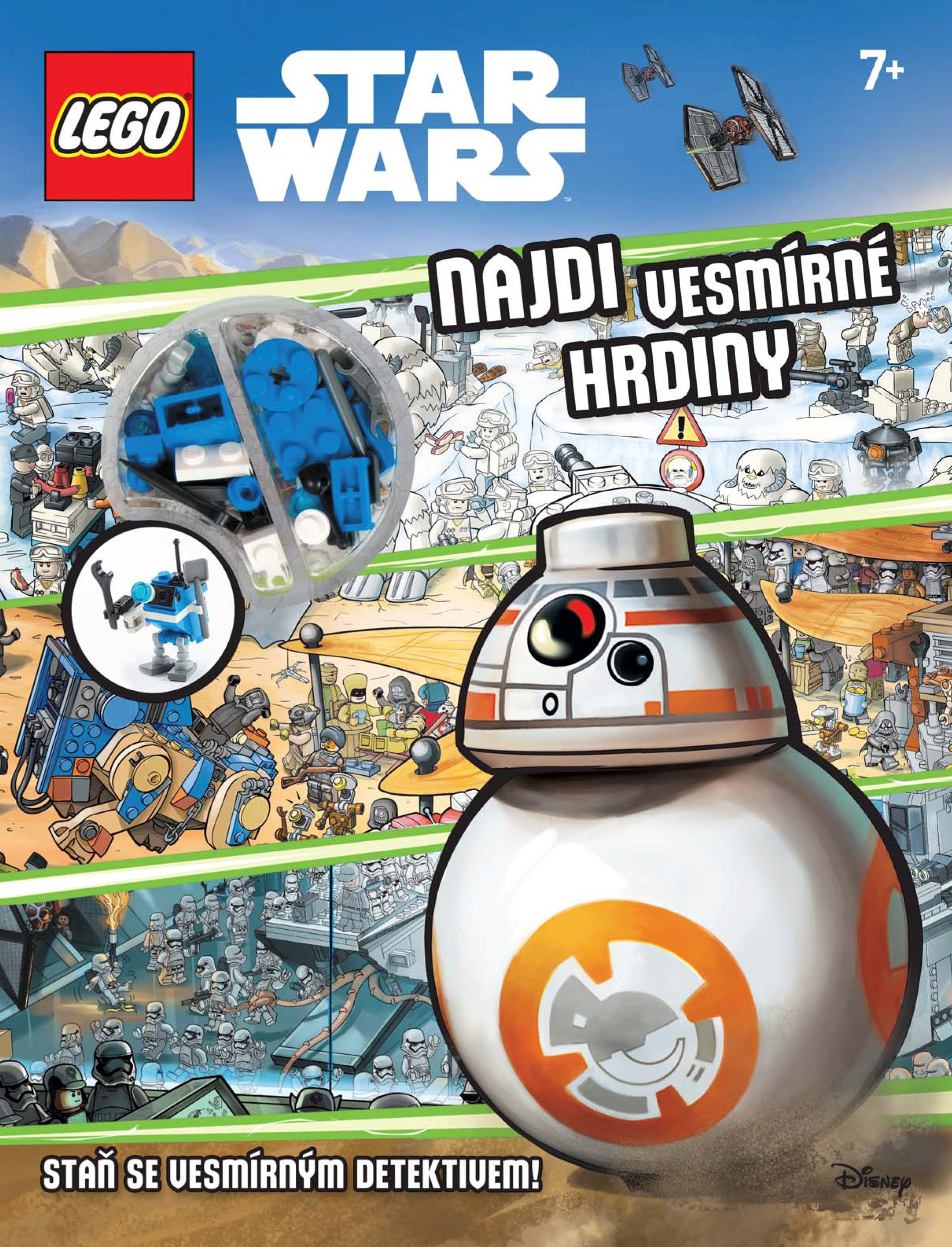 LEGO® Star Wars Najdi vesmírné hrdiny   kolektiv