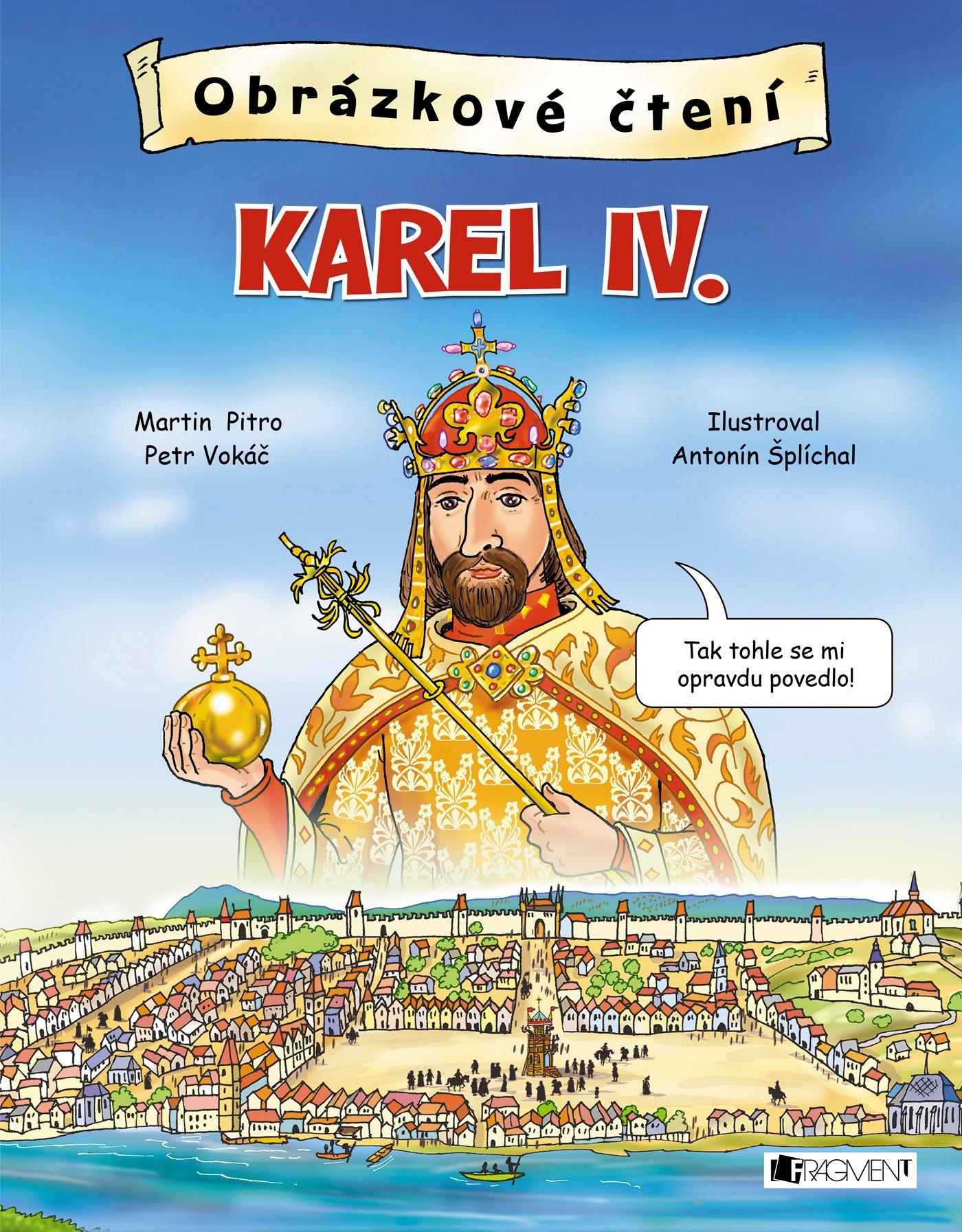 Obrázkové čtení - Karel IV.