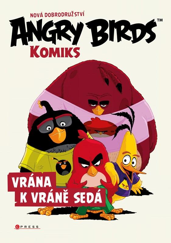 Angry Birds ve filmu – Komiks: Vrána k vráně sedá | kolektiv, kolektiv